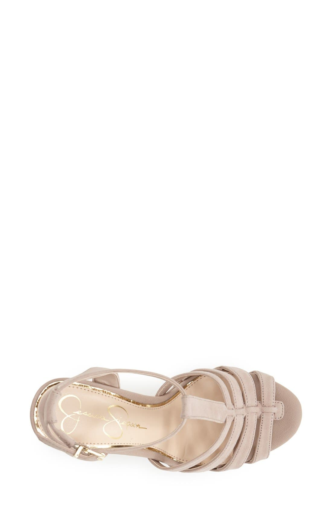 Alternate Image 3  - Jessica Simpson 'Bristol' Ankle Strap Platform Wedge Sandal (Women)