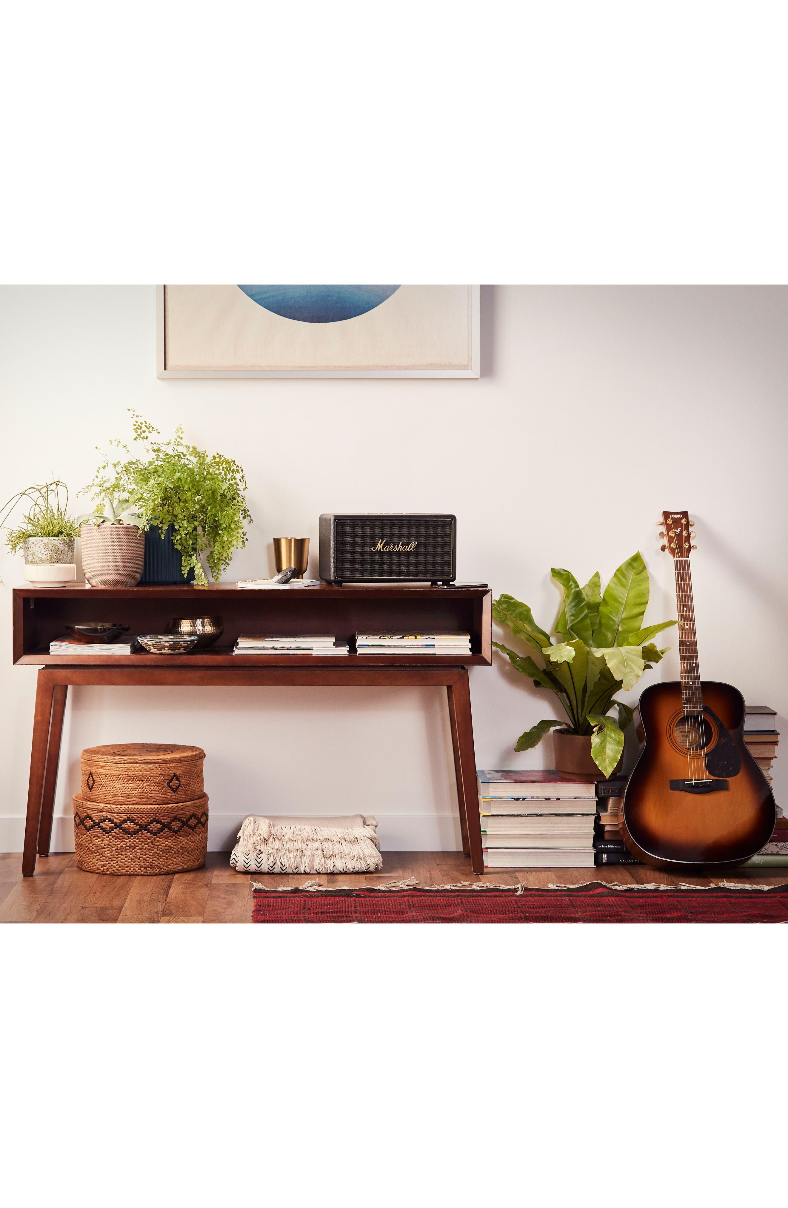 Acton Multi Room WiFi & Bluetooth Speaker,                             Alternate thumbnail 3, color,                             Black