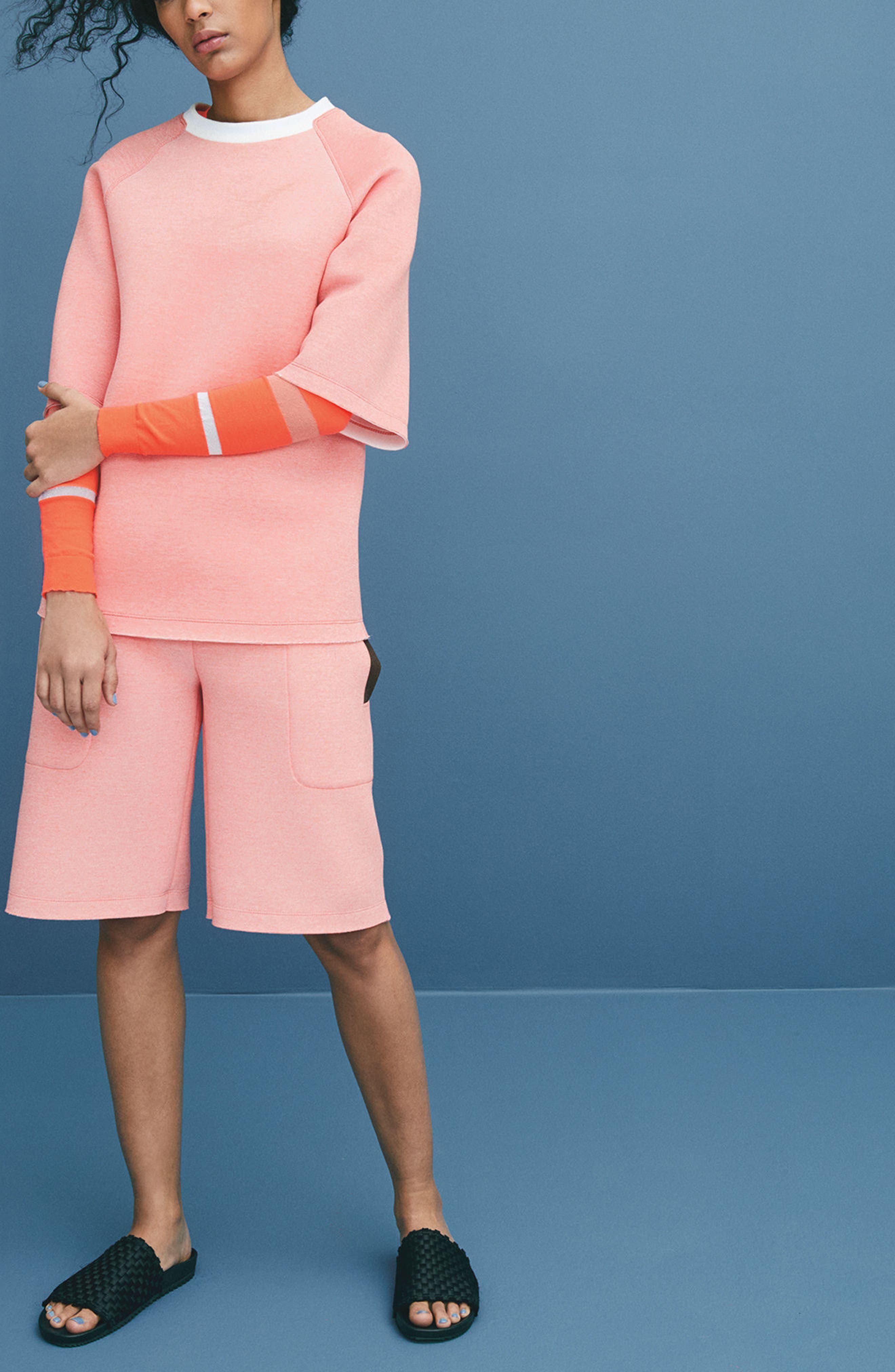 Tech Shorts,                             Alternate thumbnail 2, color,                             Coral