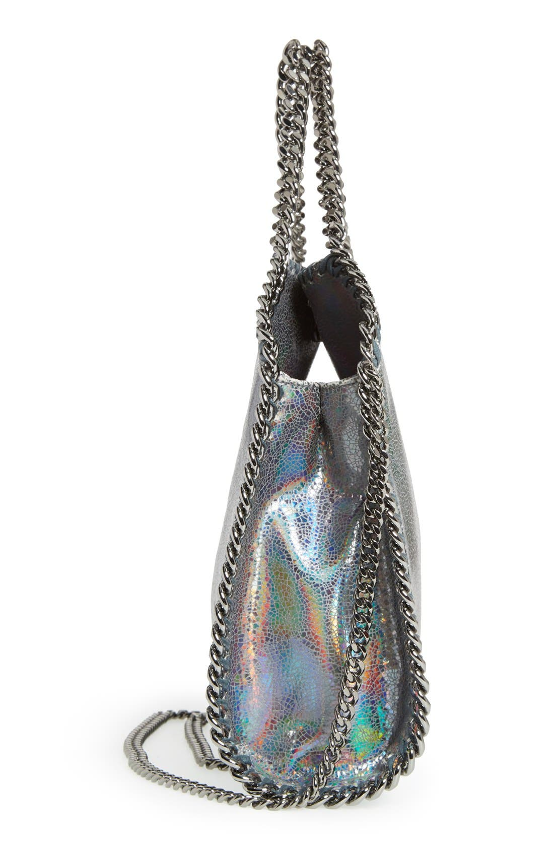 Alternate Image 5  - Stella McCartney 'Mini Hologram Falaballa' Faux Leather Tote