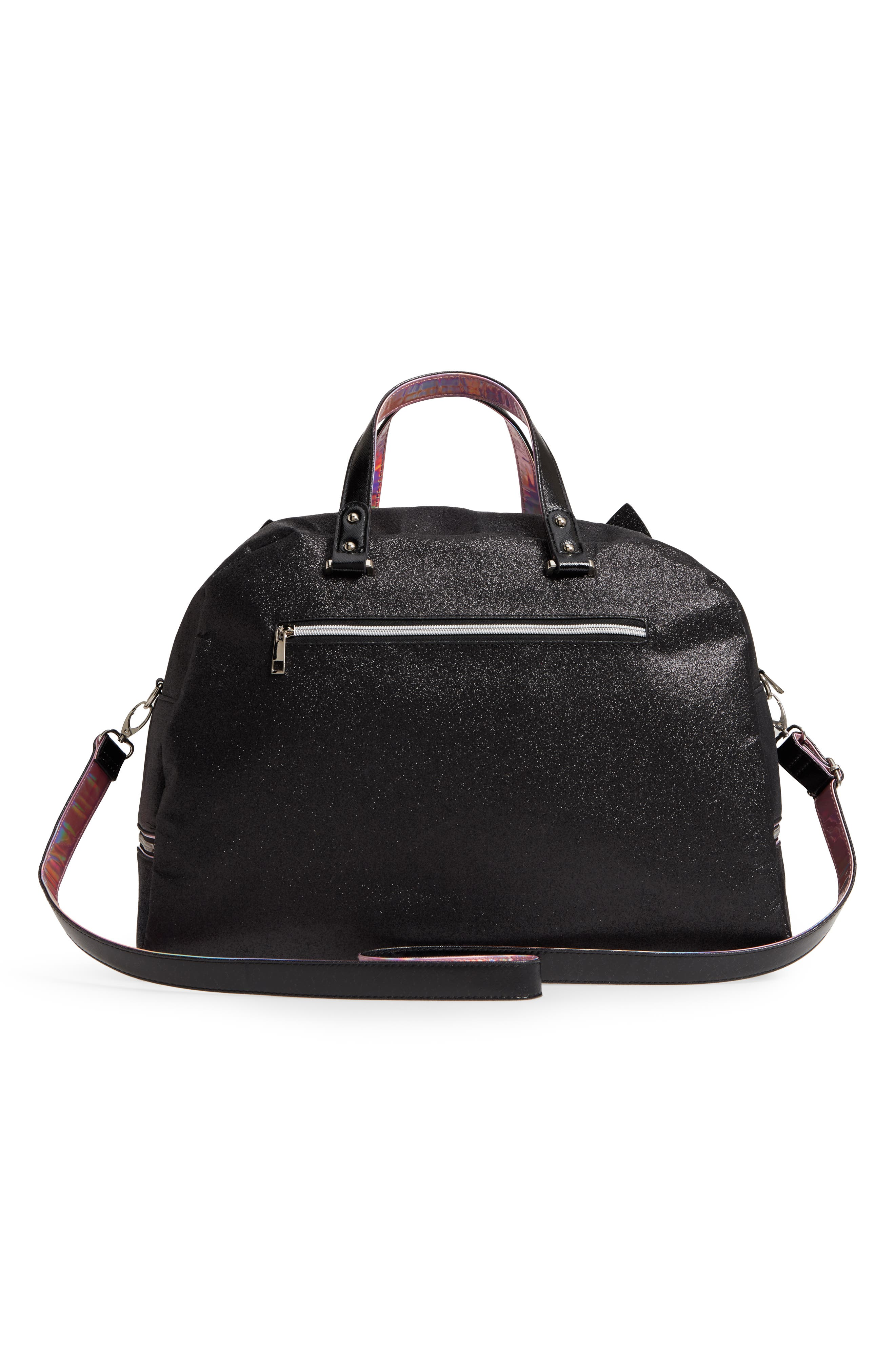 Duffel Bag,                             Alternate thumbnail 2, color,                             Black Kitty