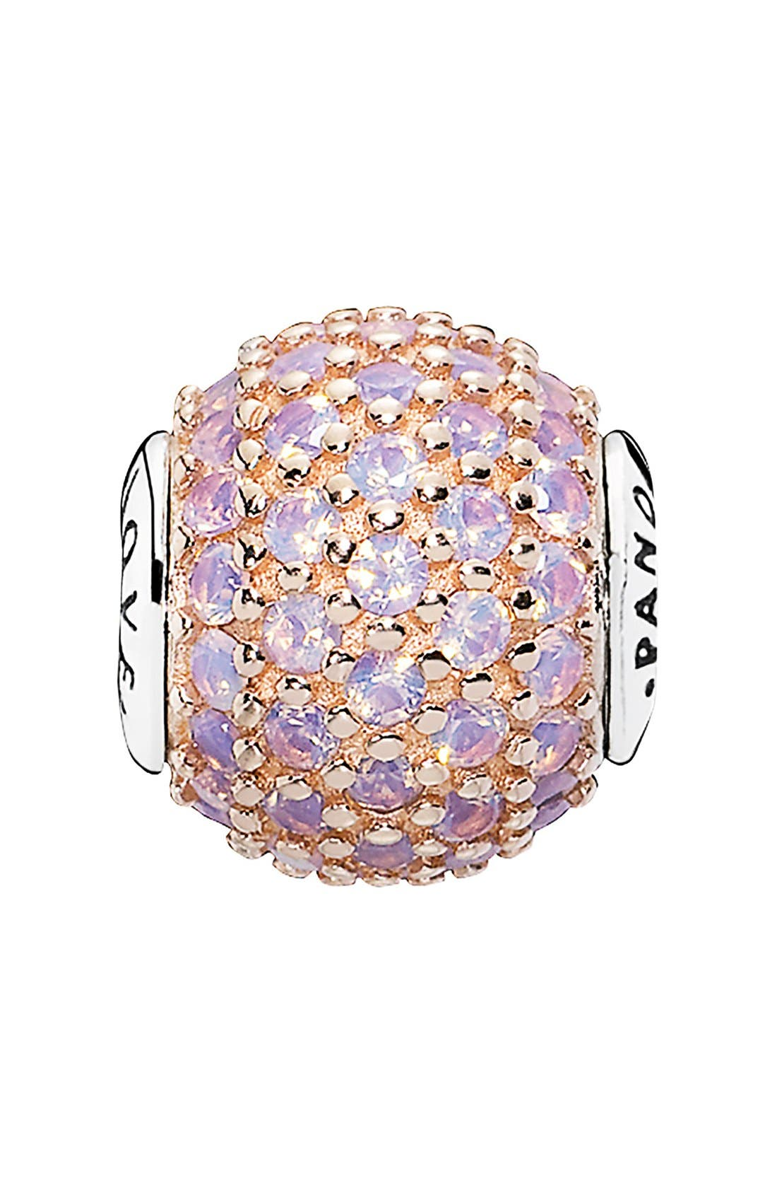 Alternate Image 1 Selected - PANDORA 'Essence - Love' Pavé Bead Charm