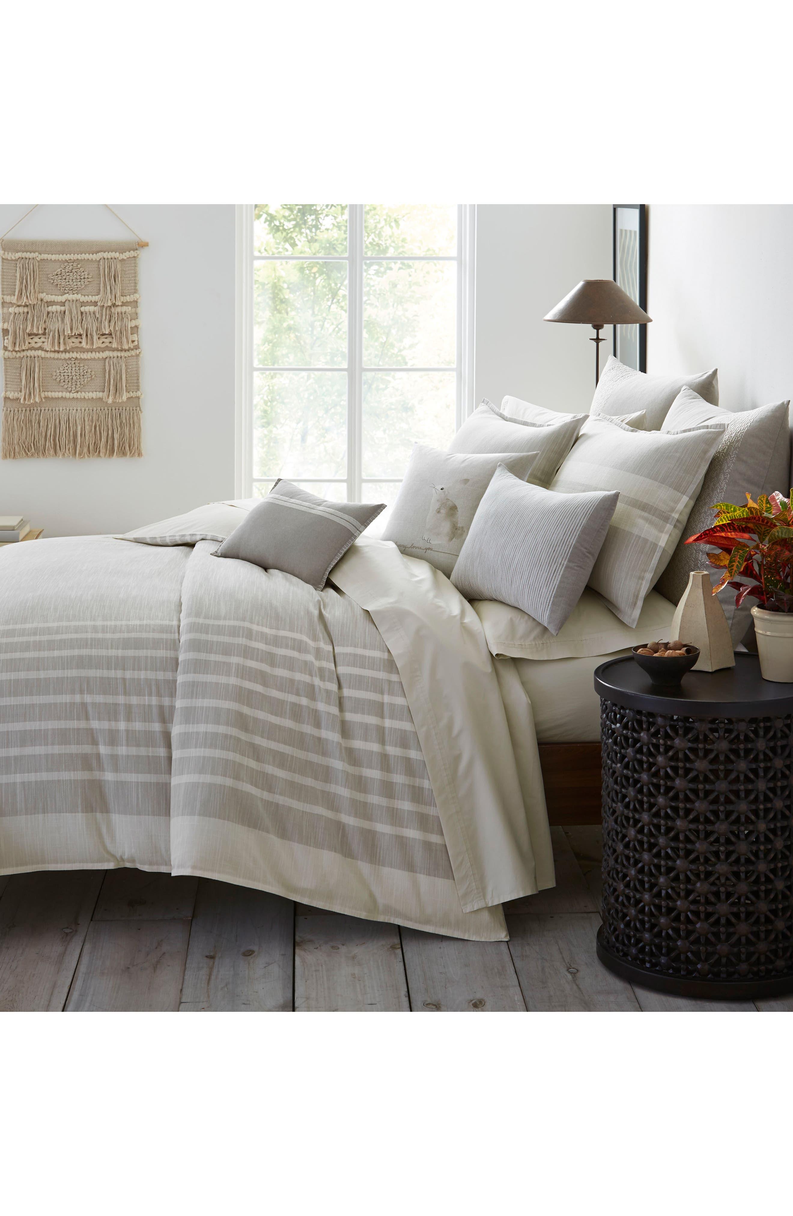 Claremont Comforter & Sham Set,                             Alternate thumbnail 2, color,                             Pastel Grey