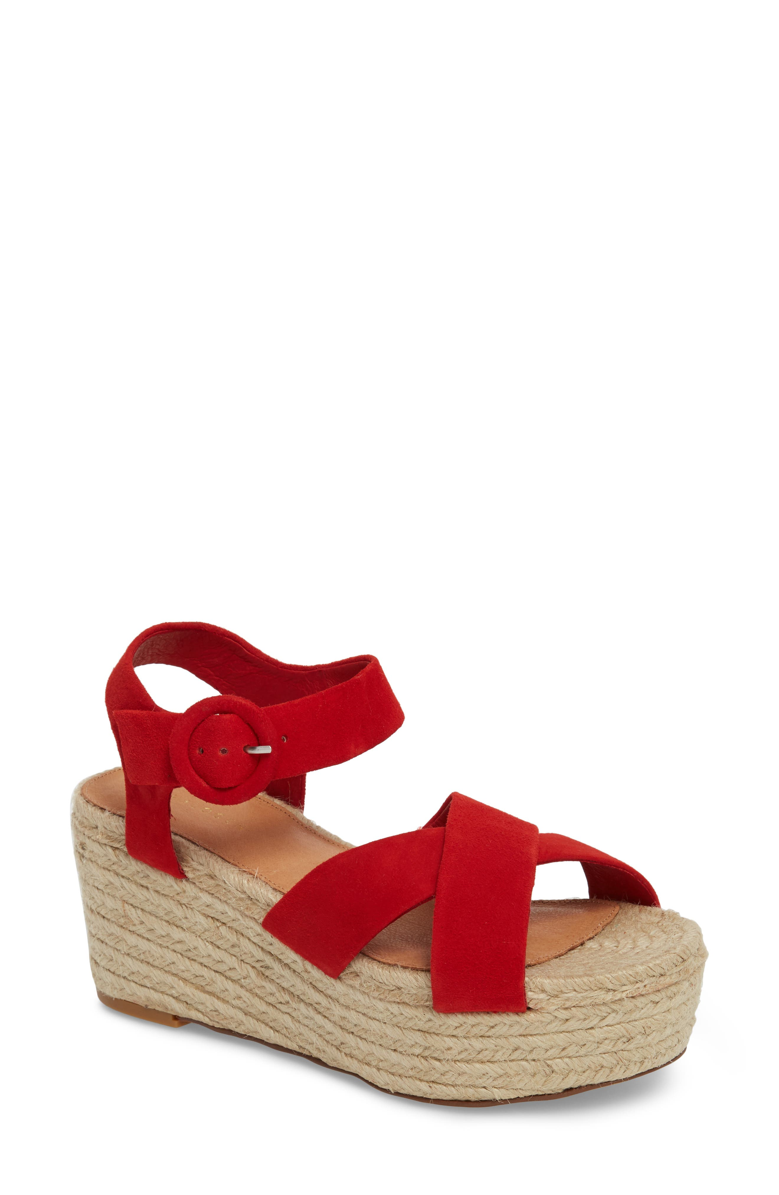 Halogen® Emery Platform Espadrille Sandal (Women)