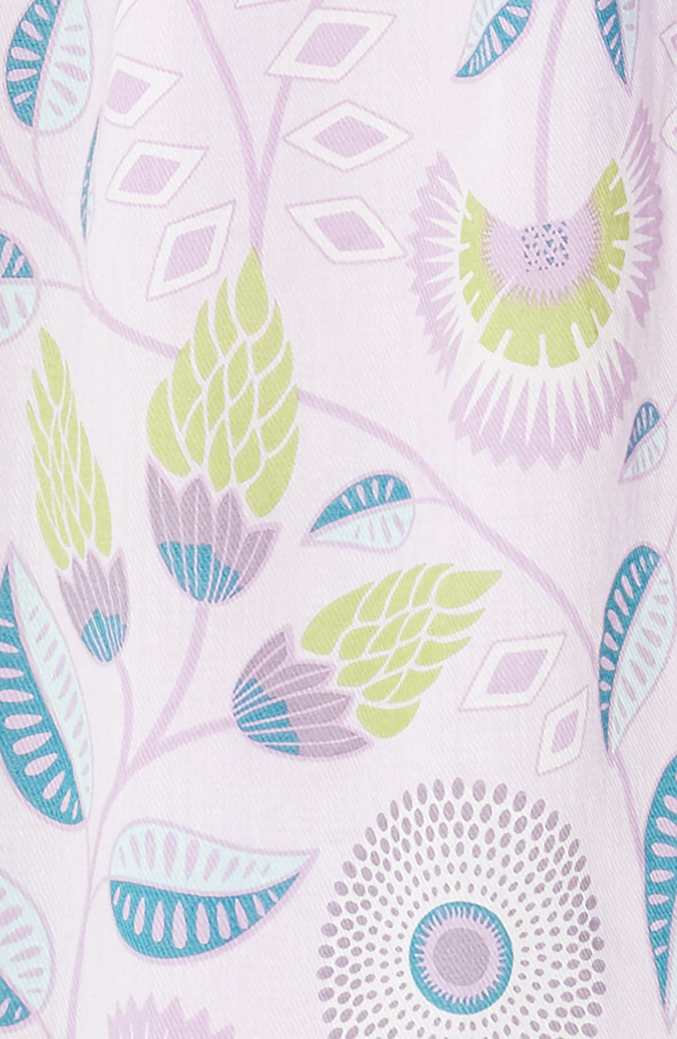 Blooming Floral High/Low Dress,                             Alternate thumbnail 3, color,                             African Lyrical