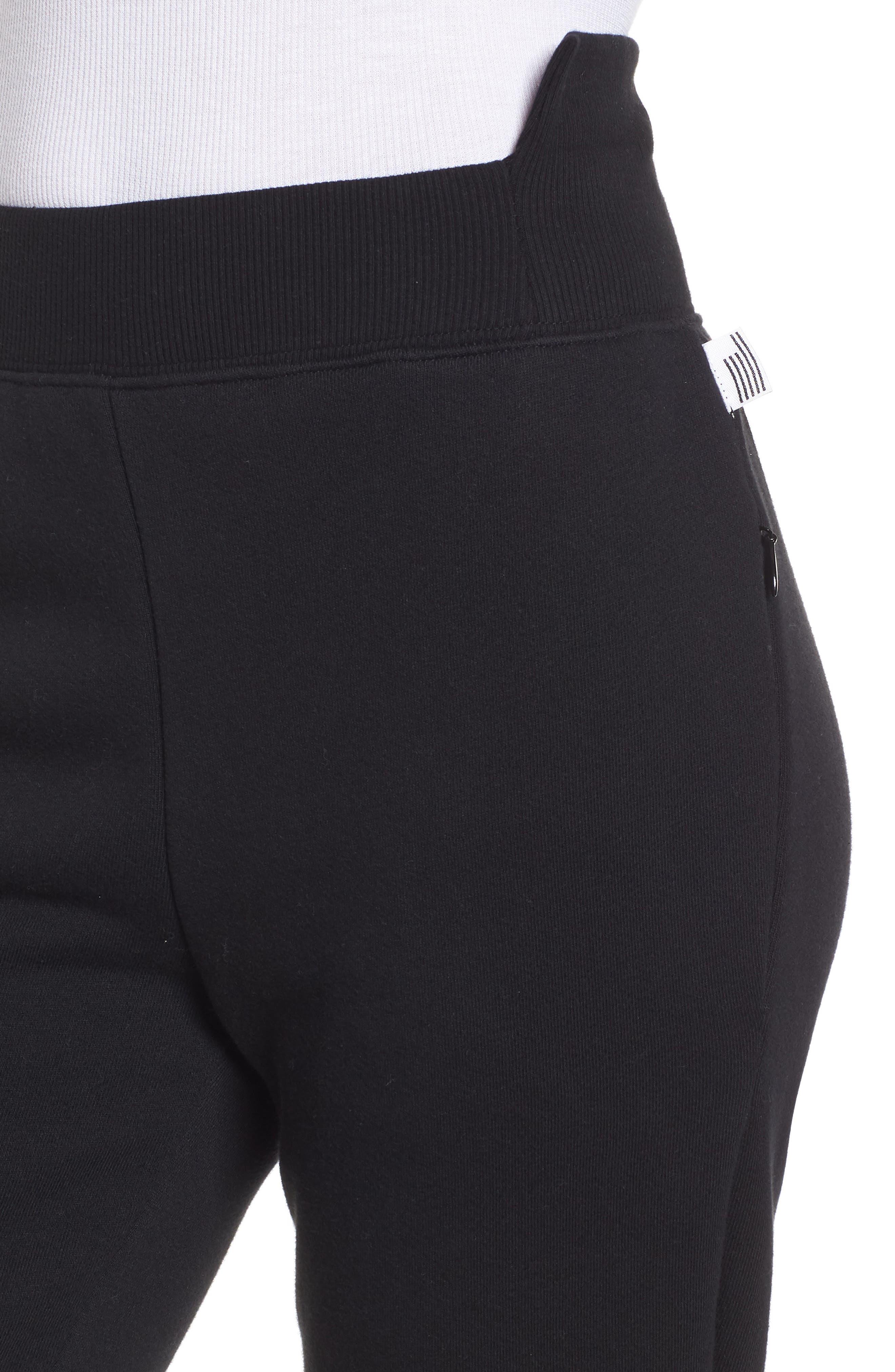 Alternate Image 4  - Good American Good Sweats Step Hem Sweatpants (Regular & Plus Size)