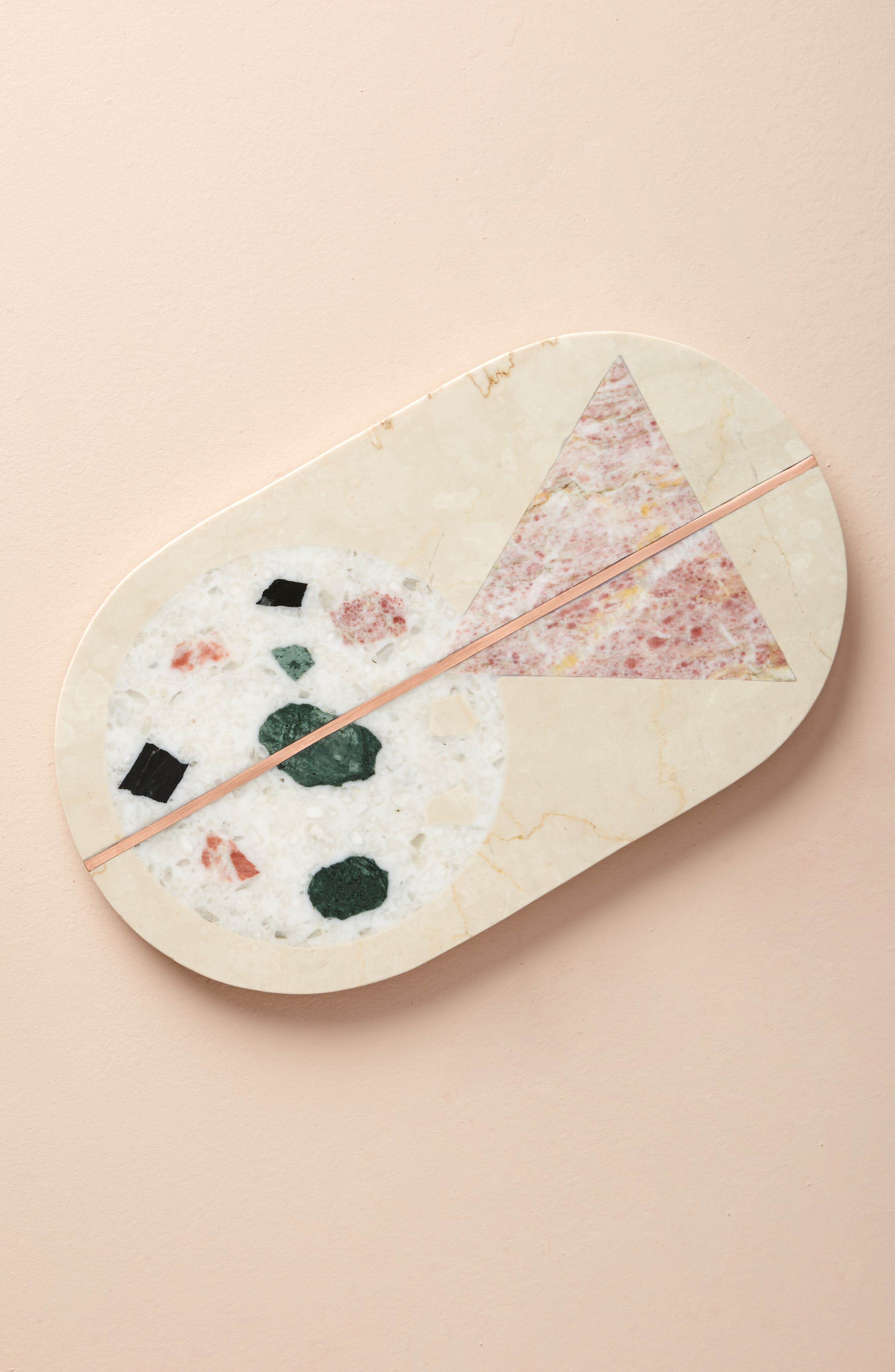 Barbaza Marble Cheese Board,                         Main,                         color, Ivory
