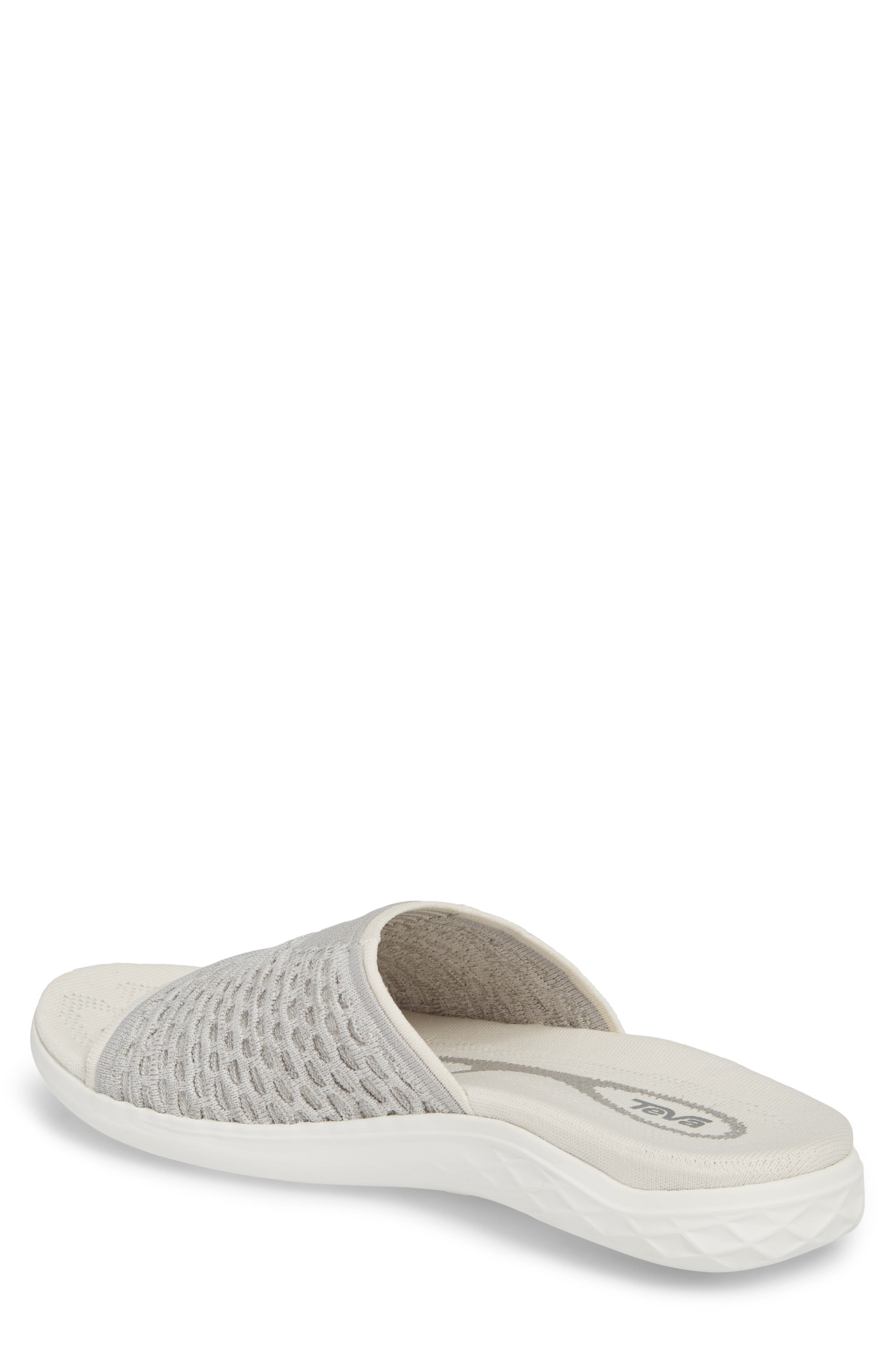 Terra-Float 2 Knit Slide Sandal,                             Alternate thumbnail 2, color,                             Bright White
