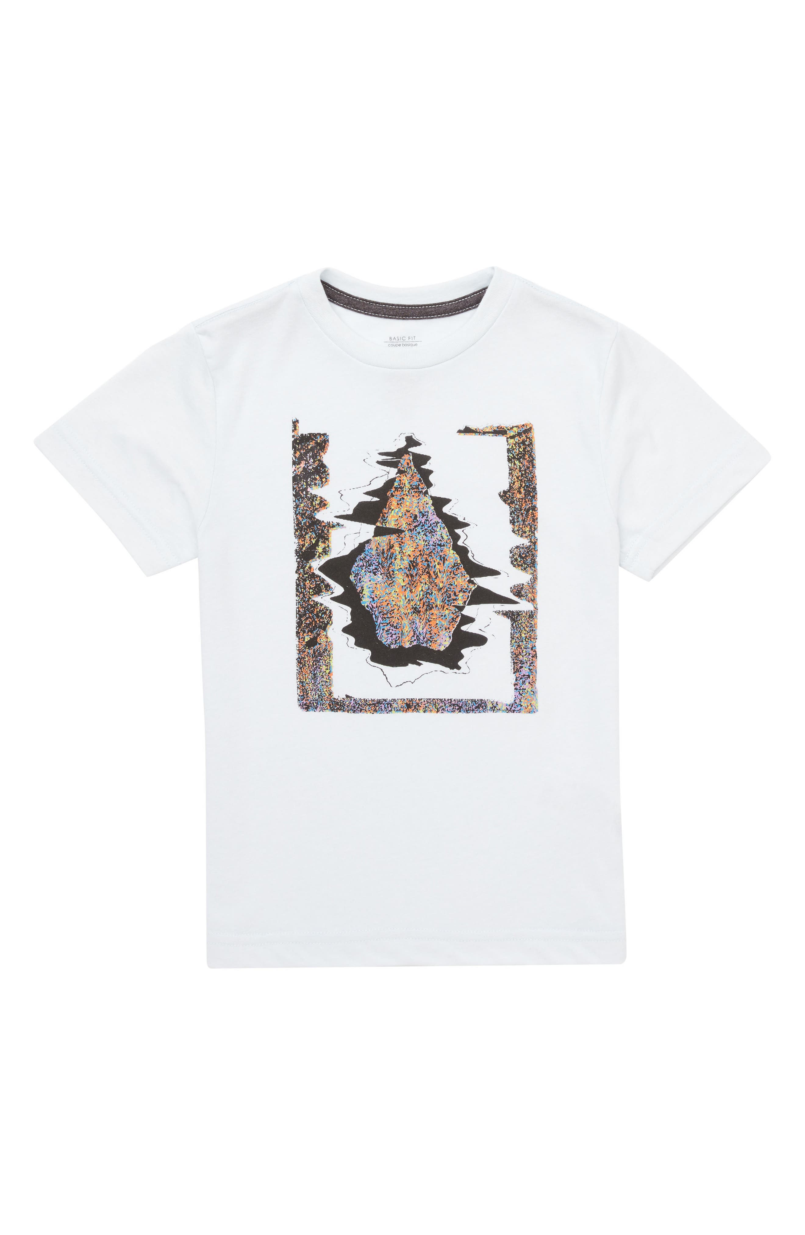 Statiq Graphic T-Shirt,                         Main,                         color, White