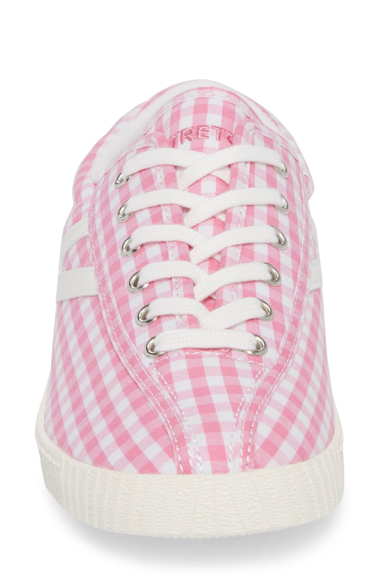 'Nylite' Sneaker,                             Alternate thumbnail 5, color,                             Pink/ Vintage White