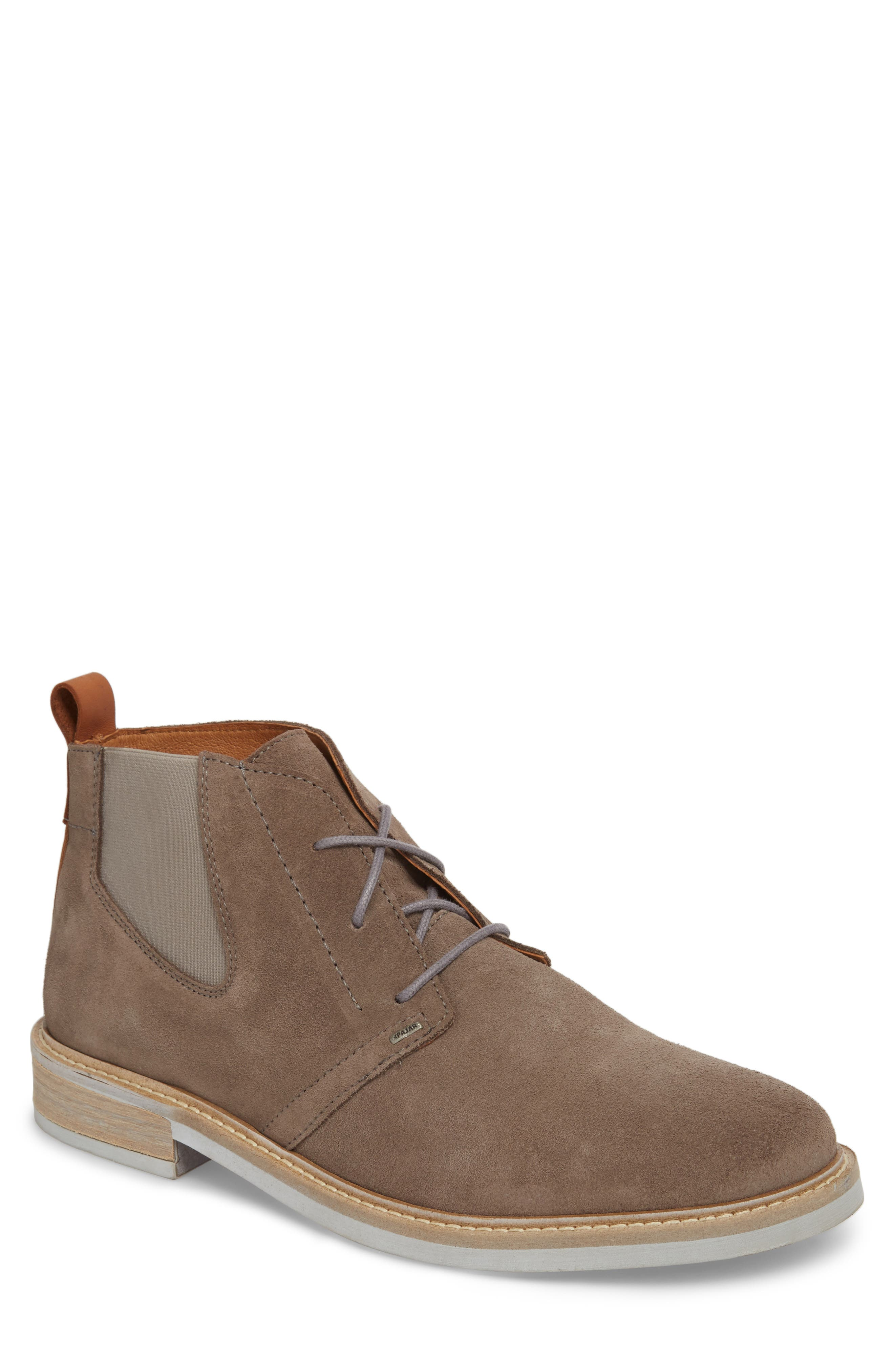 PAJAR Jameson Water Resistant Chukka Boot in Anthracite