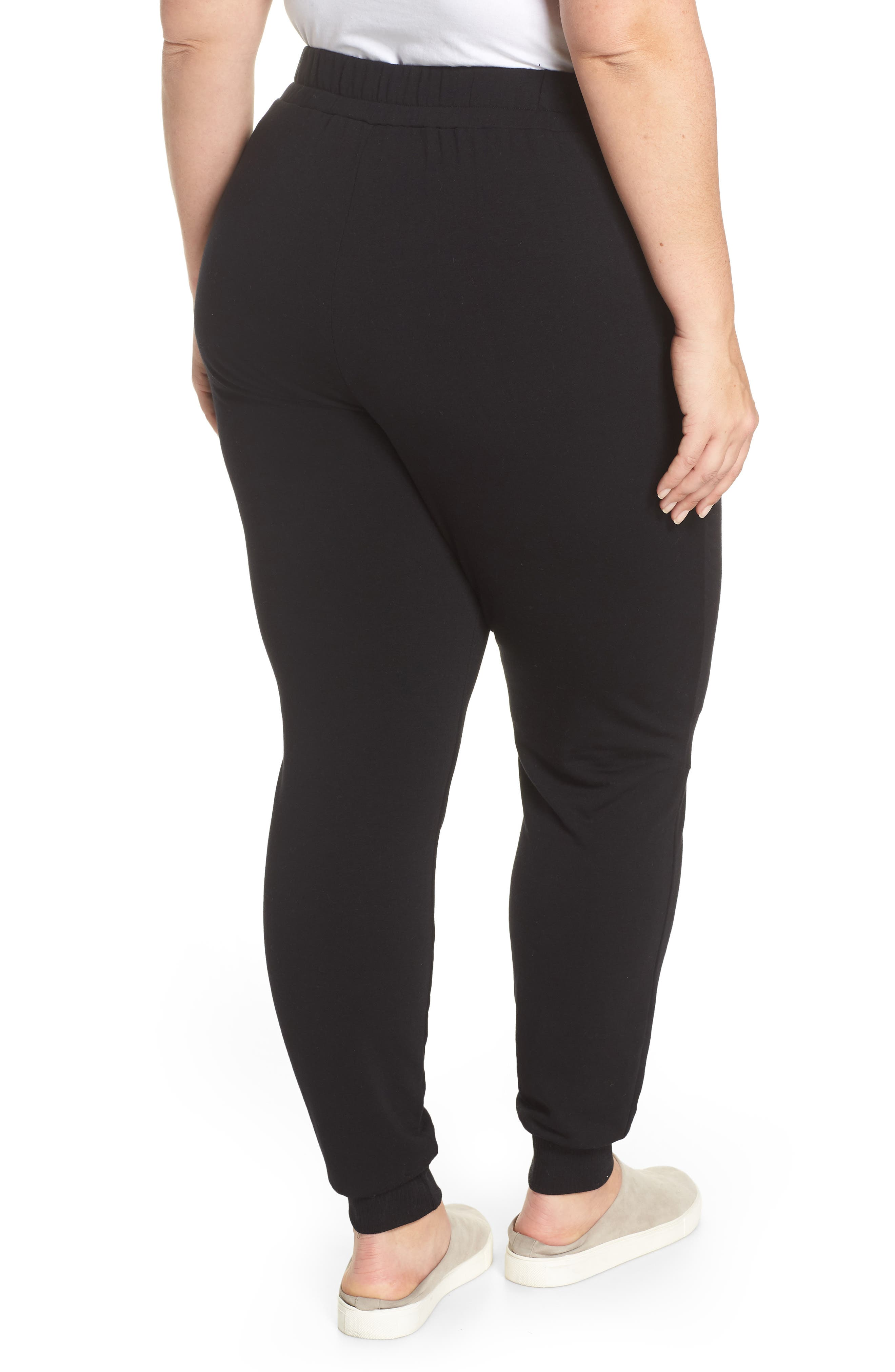 Off-Duty Stretch Jogger,                             Alternate thumbnail 2, color,                             Black