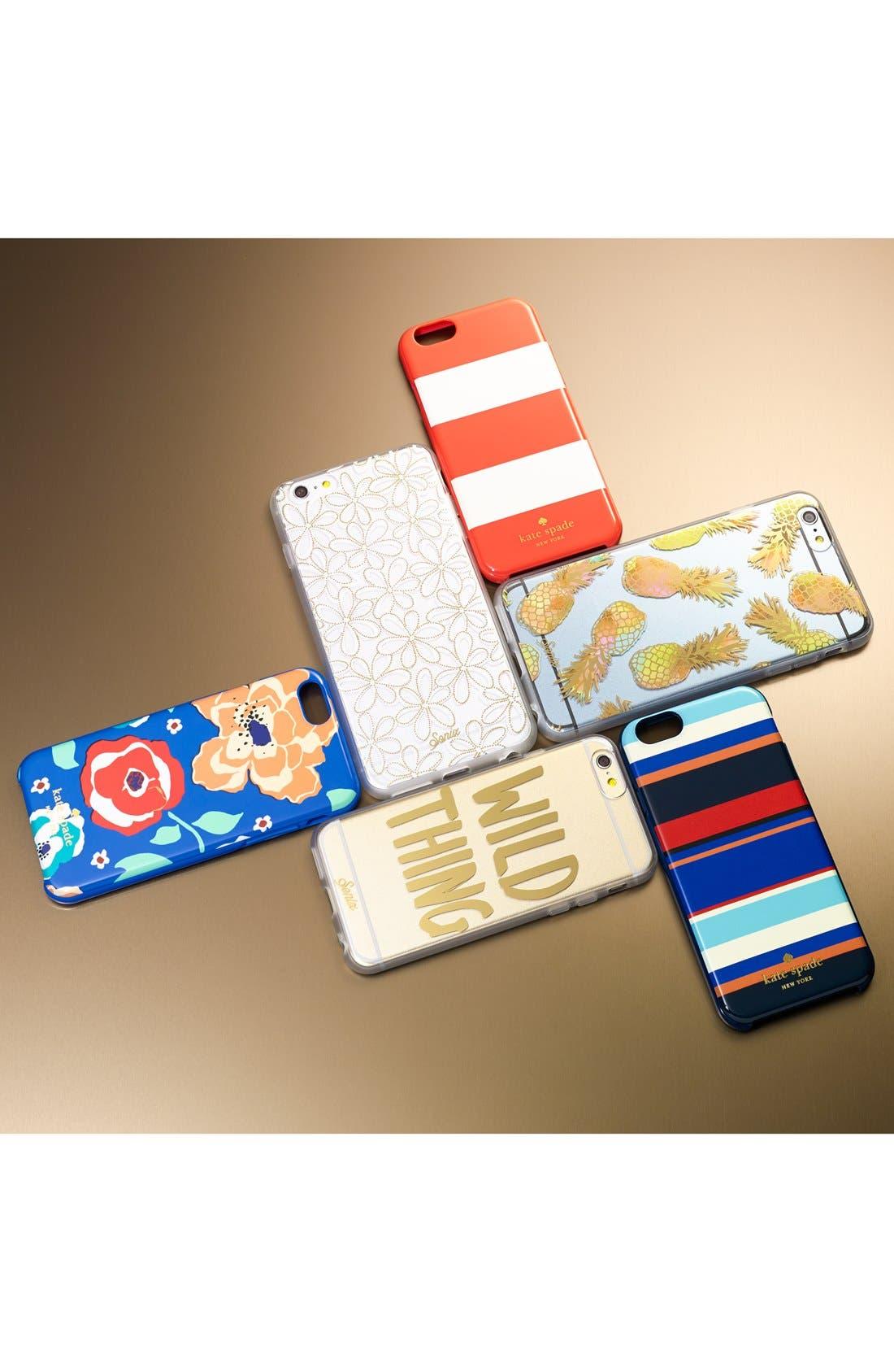 Alternate Image 4  - kate spade new york 'tropical stripe' iPhone 6 case