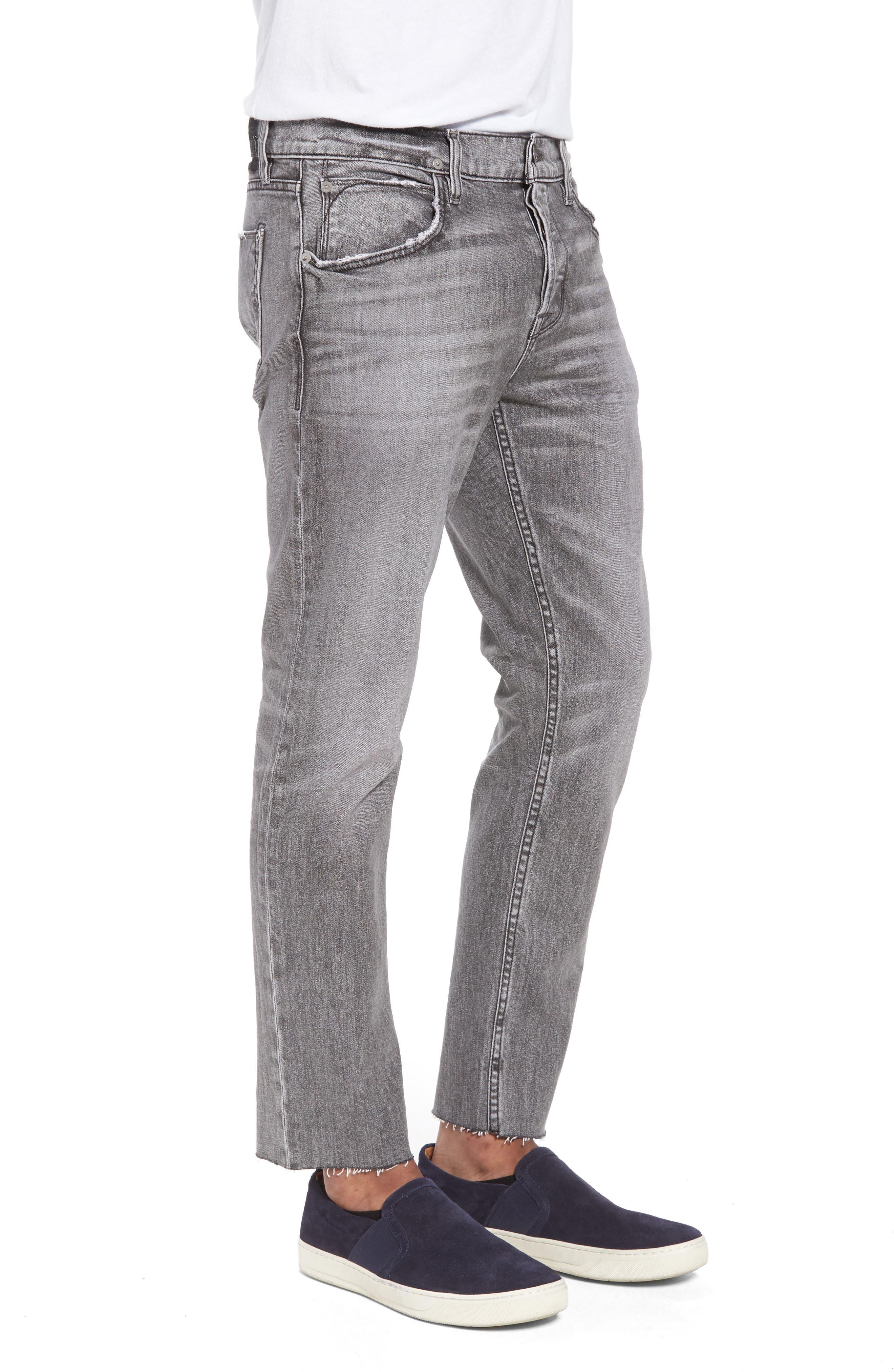 Blake Slim Fit Jeans,                             Alternate thumbnail 3, color,                             Chrome