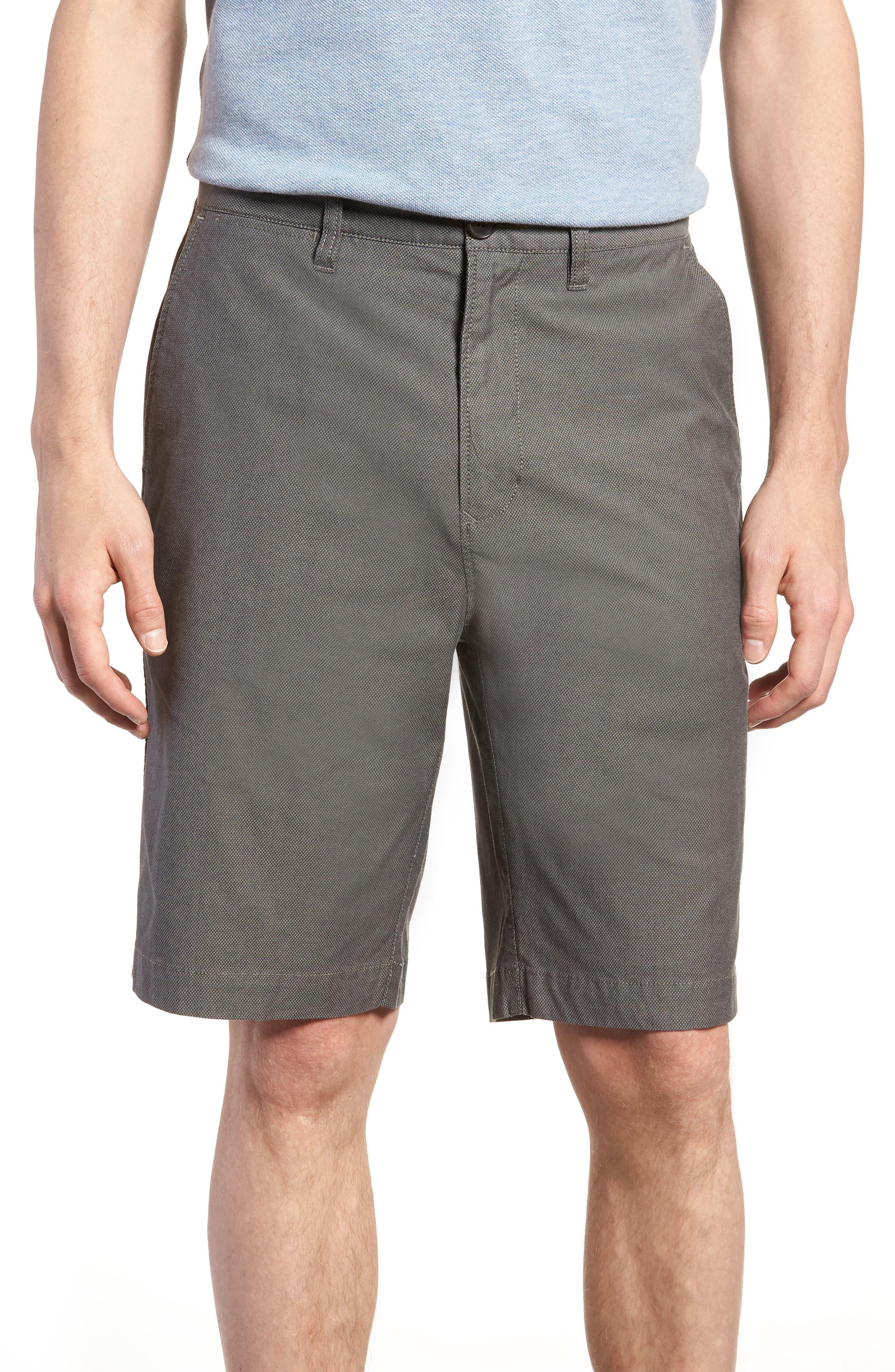 Army Bay Regular Fit Shorts,                             Main thumbnail 1, color,                             Granite