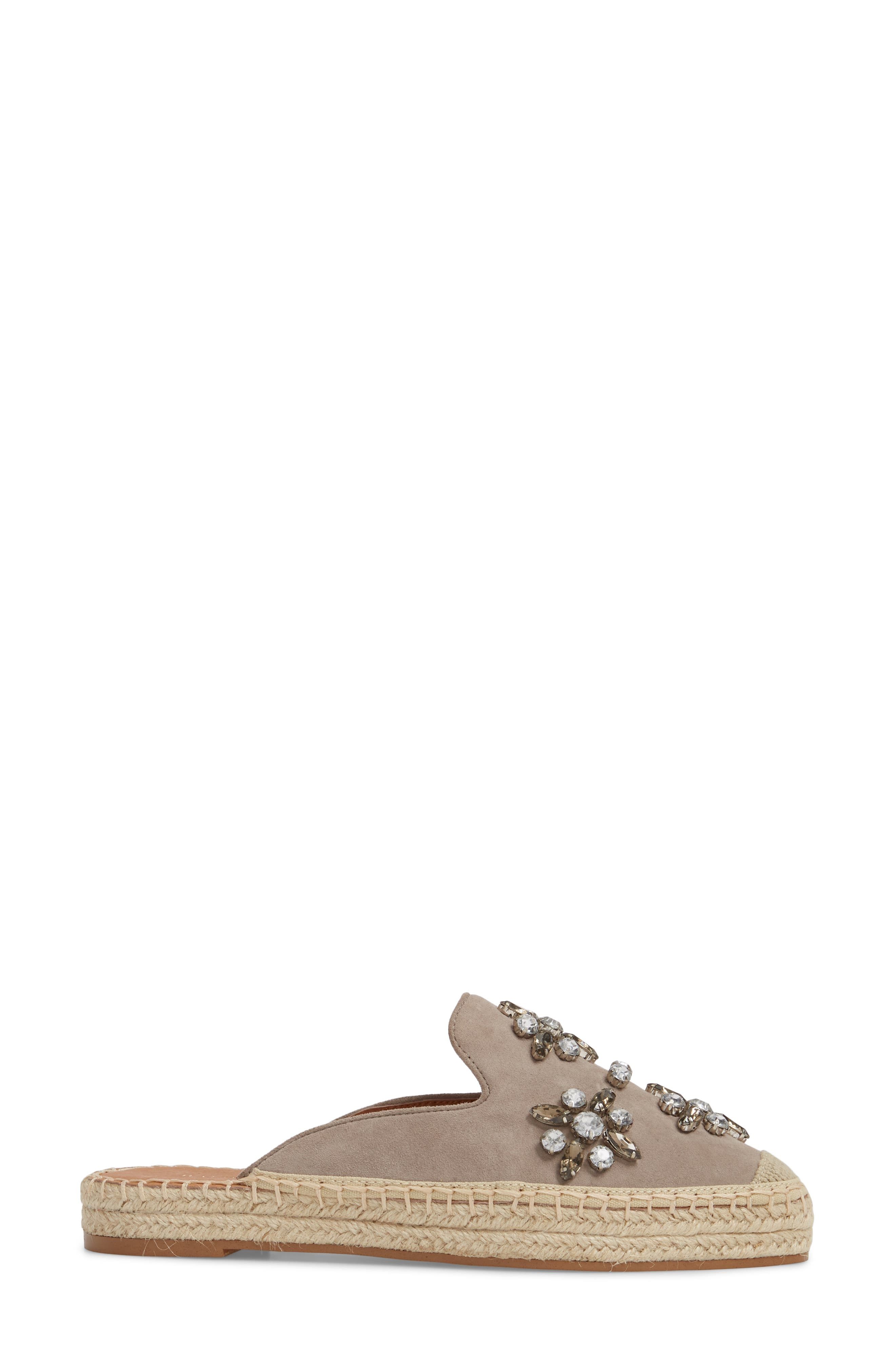 Alternate Image 3  - Halogen® Blythe Embellished Espadrille Mule (Women)