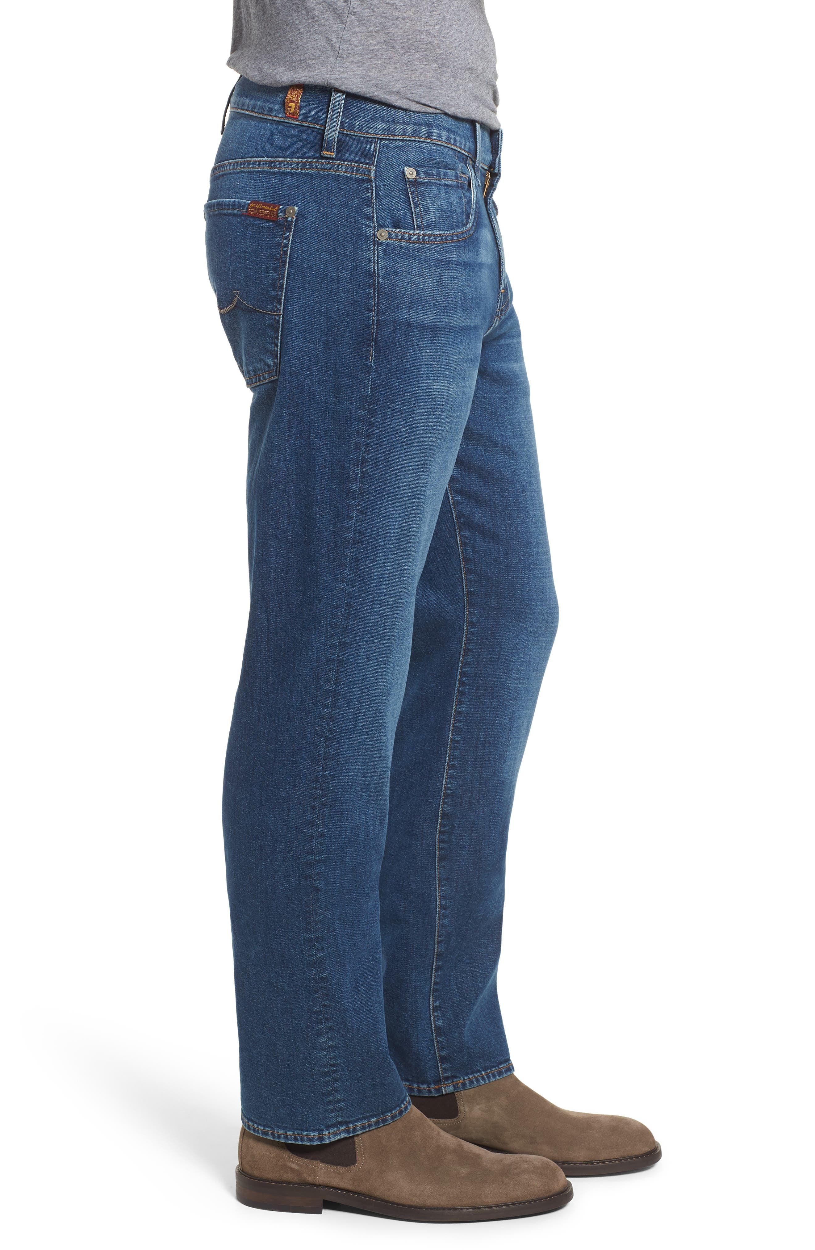 Austyn Relaxed Fit Jeans,                             Alternate thumbnail 3, color,                             Oasis