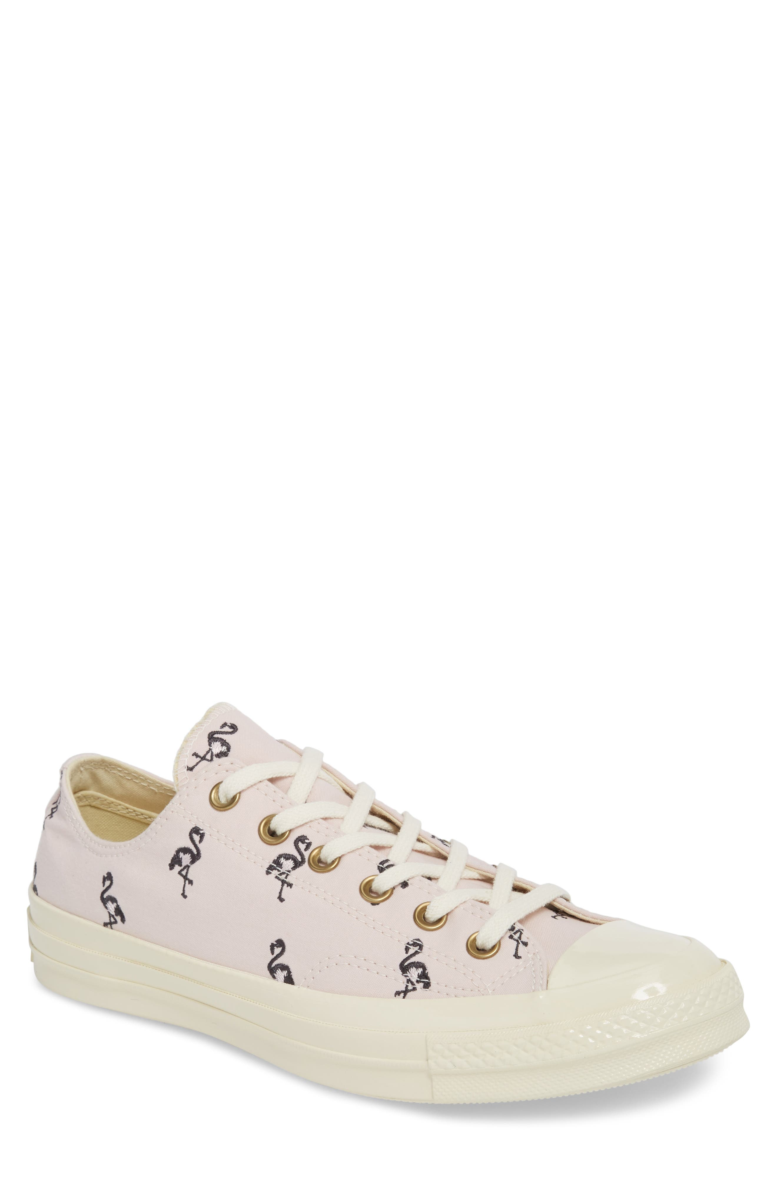 Chuck Taylor<sup>®</sup> All Star<sup>®</sup> 70 Flamingos Low Top Sneaker,                         Main,                         color, Barely Rose