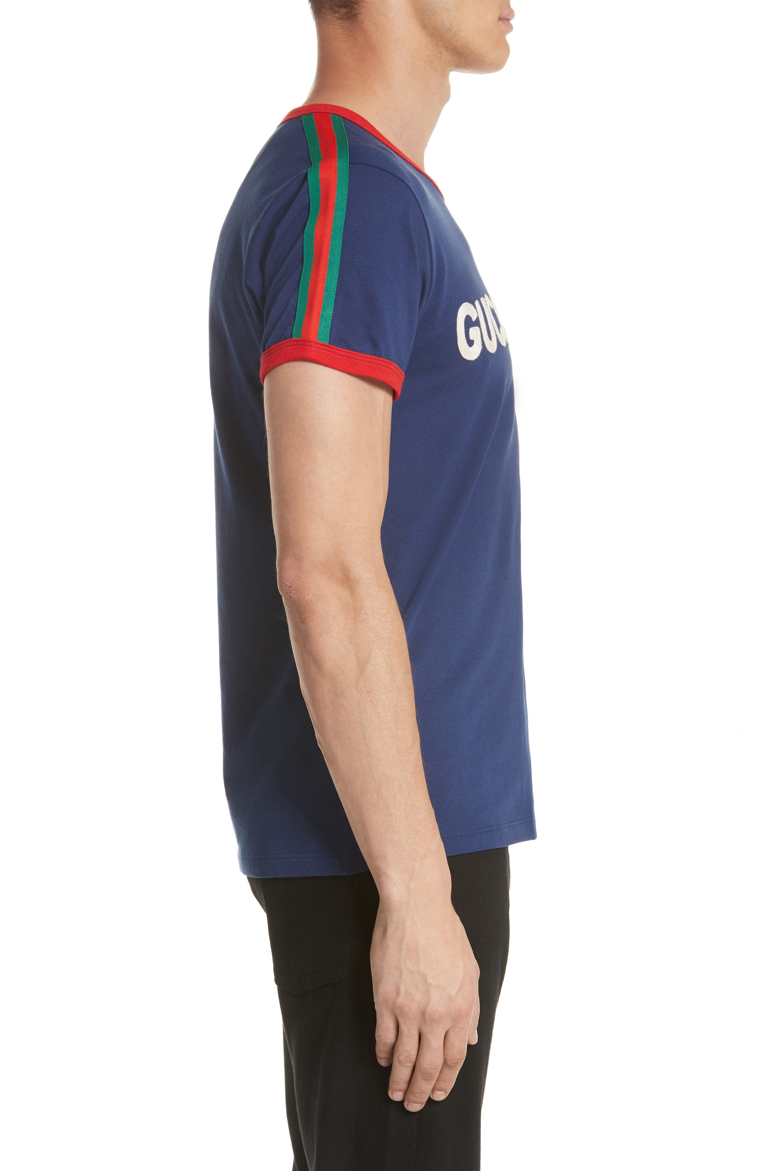 Guccification T-Shirt,                             Alternate thumbnail 3, color,                             4455 Navy