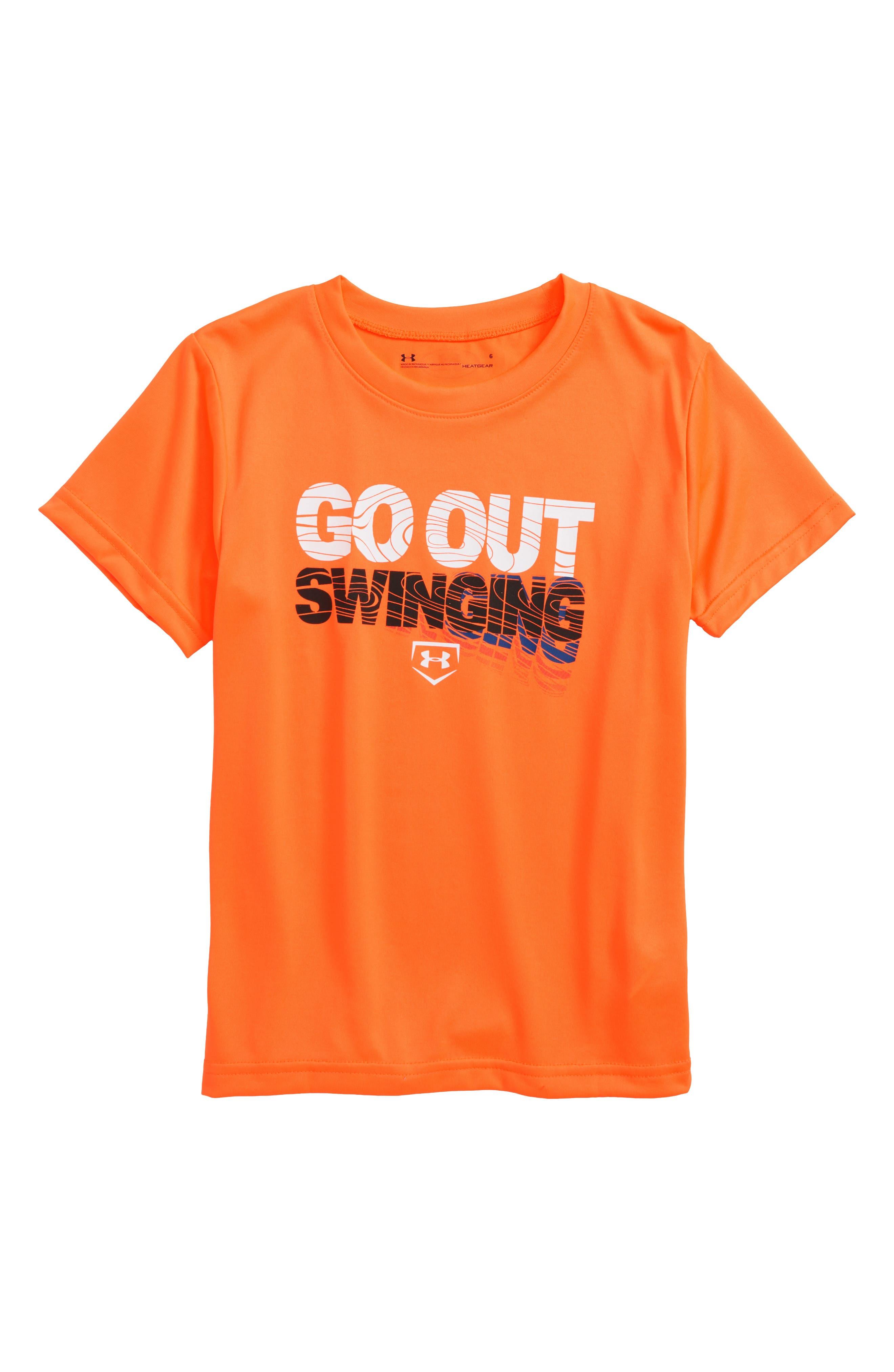 Under Armour Go Out Swinging HeatGear® T-Shirt (Toddler Boys & Little Boys)