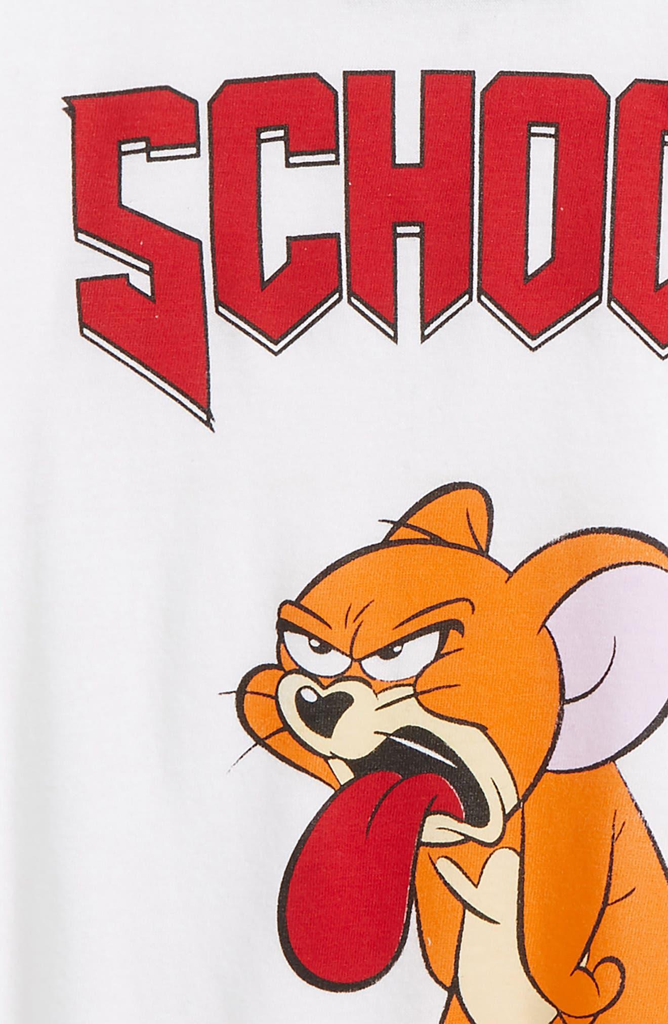 Moljer T-Shirt,                             Alternate thumbnail 3, color,                             White
