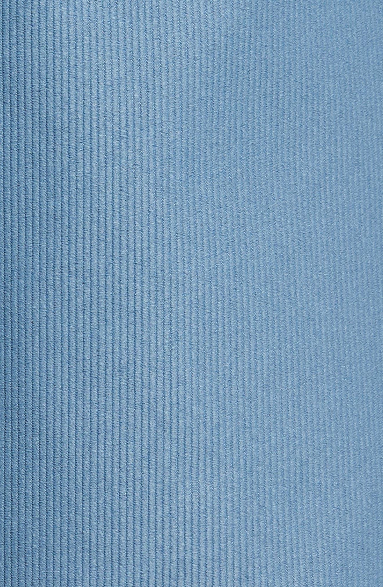 Outsider X Surf Corduroy Shorts,                             Alternate thumbnail 5, color,                             Powder Blue