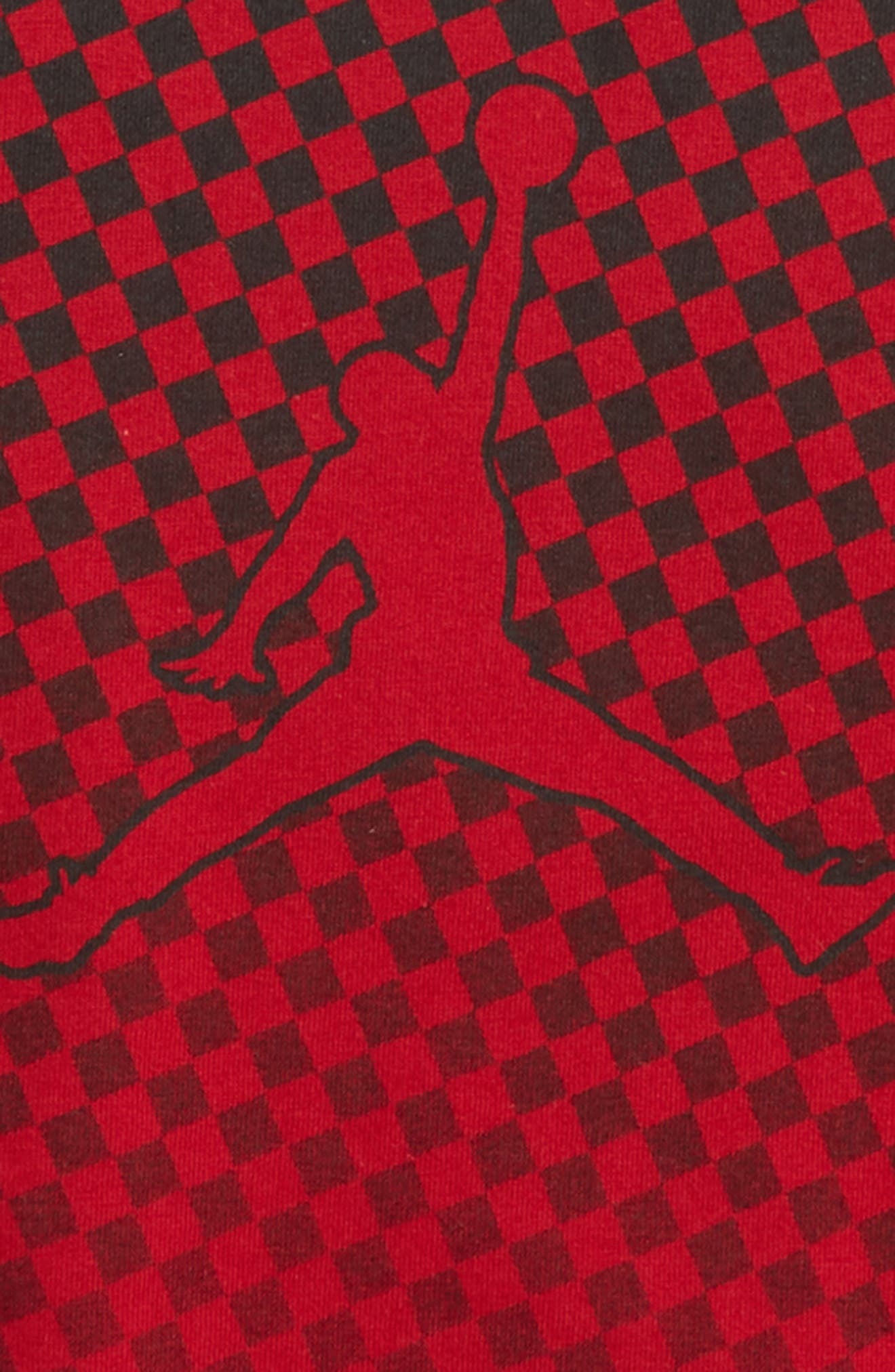 Jordan Carbon High T-Shirt,                             Alternate thumbnail 2, color,                             Gym Red