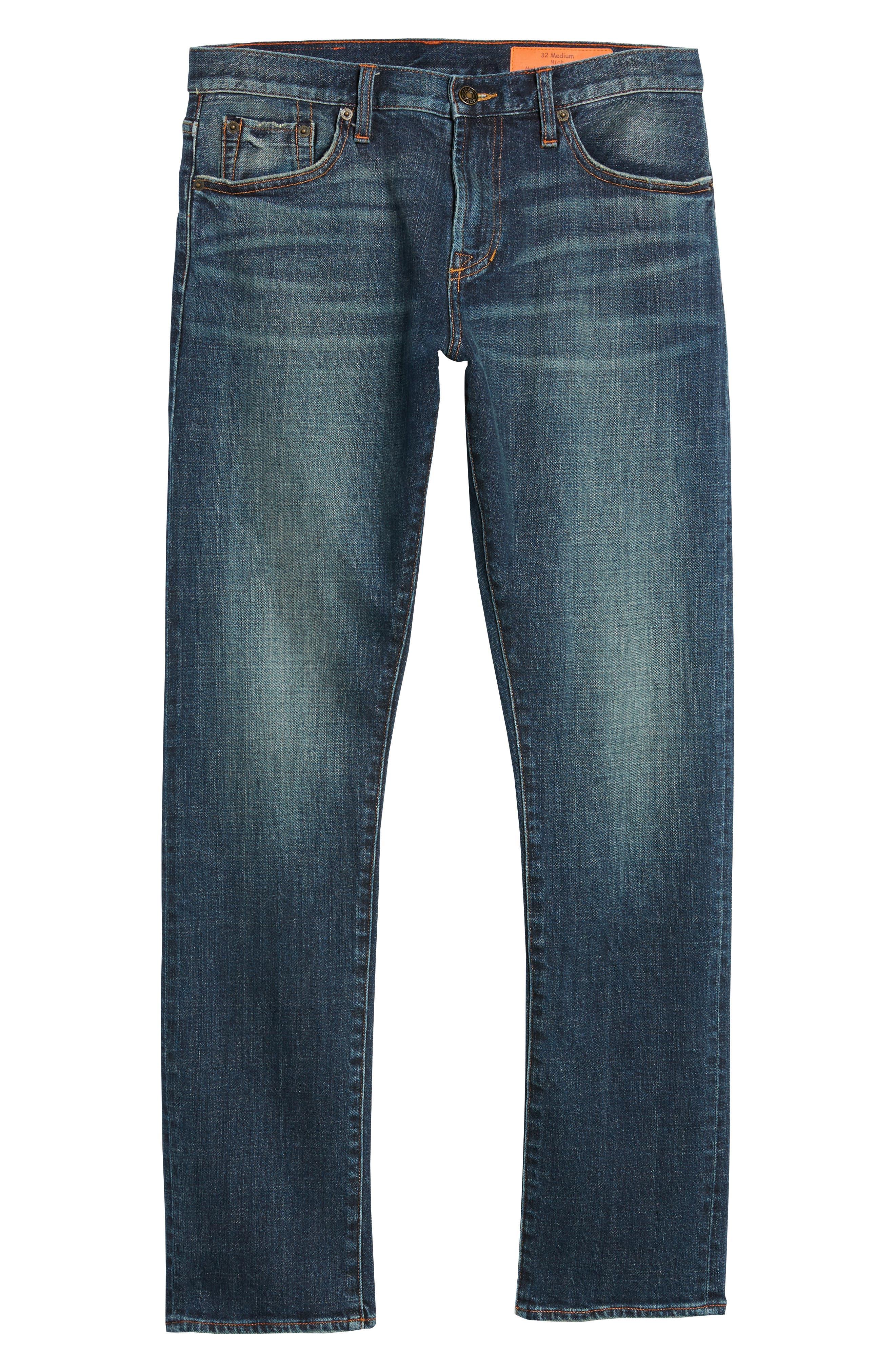 Mick Slim Straight Leg Jeans,                             Alternate thumbnail 6, color,                             Filmore