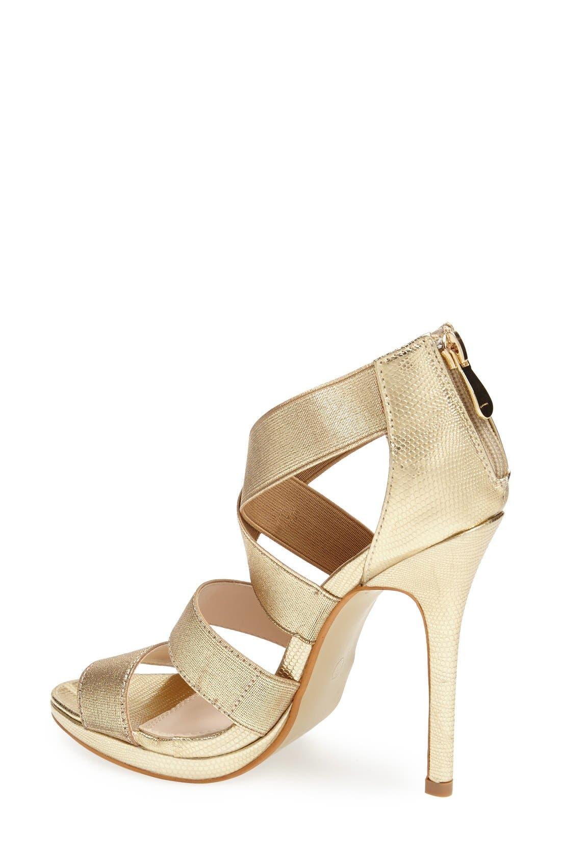 Alternate Image 2  - Lauren Lorraine 'Lipsy' Platform Sandal (Women)