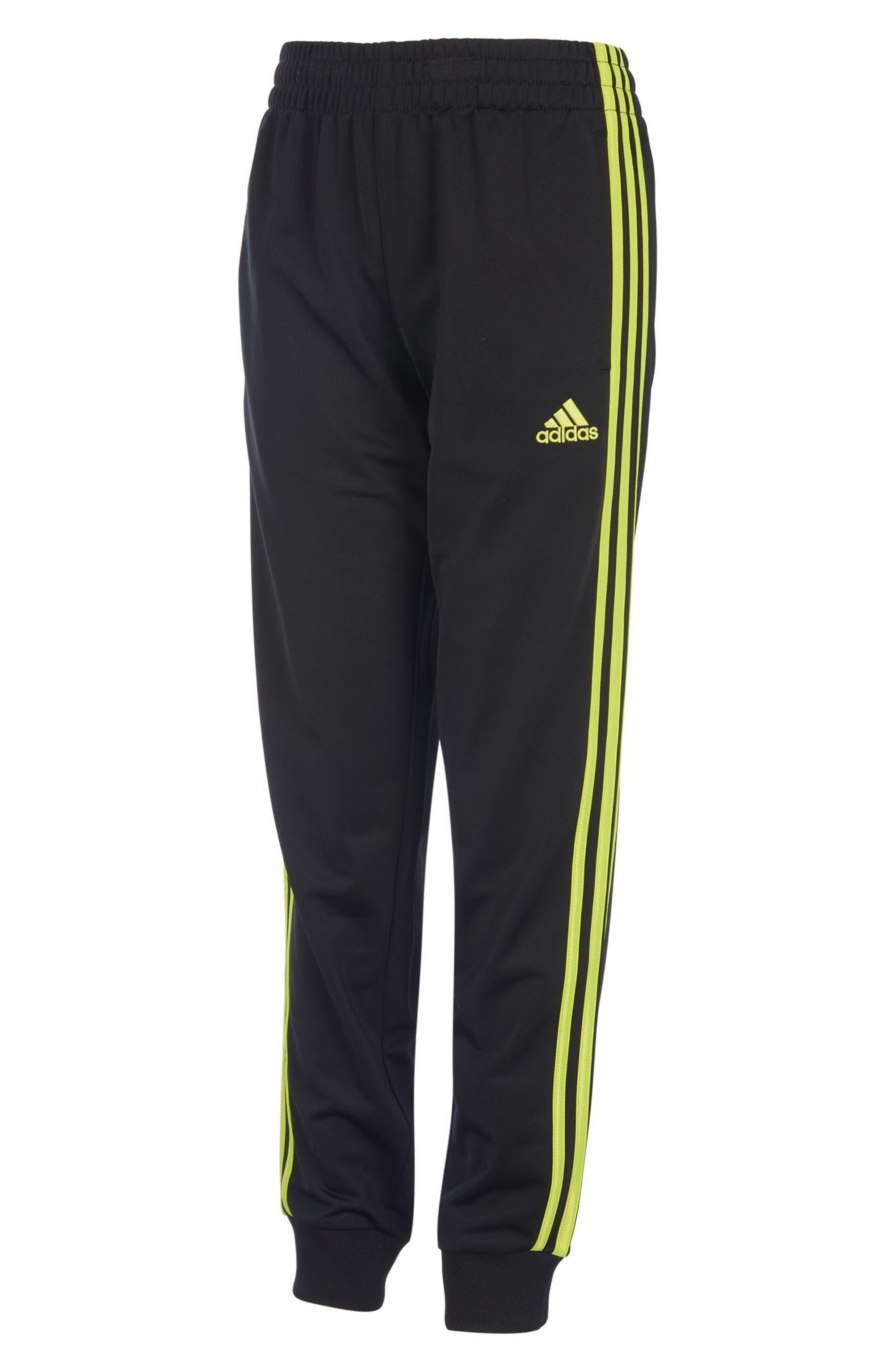 Iconic Jogger Pants,                         Main,                         color, Black/ Yellow