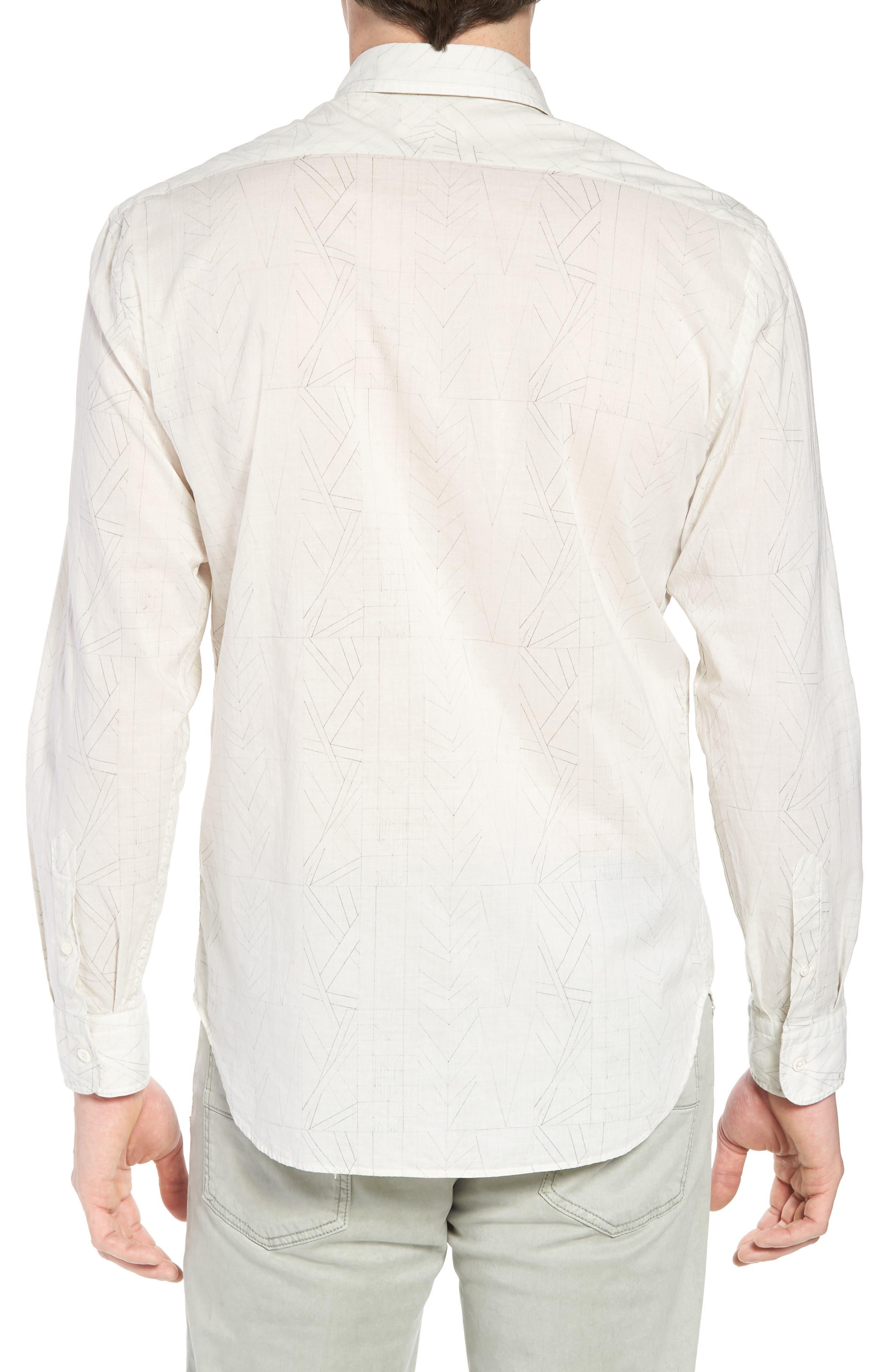 John Sport Shirt,                             Alternate thumbnail 2, color,                             Natural