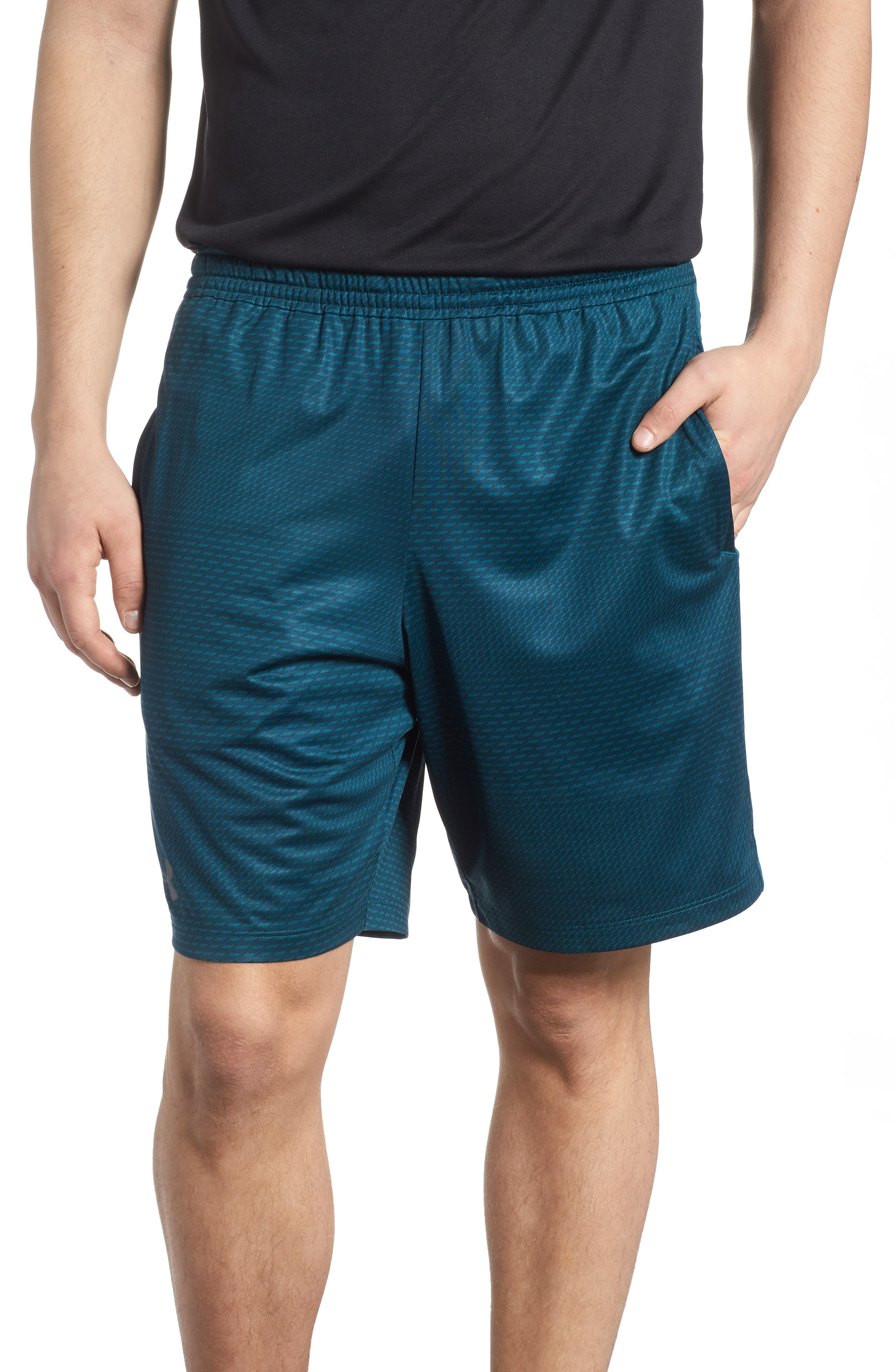 Raid 2.0 Classic Fit Shorts,                             Main thumbnail 1, color,                             Tourmaline Teal/ Stealth Gray