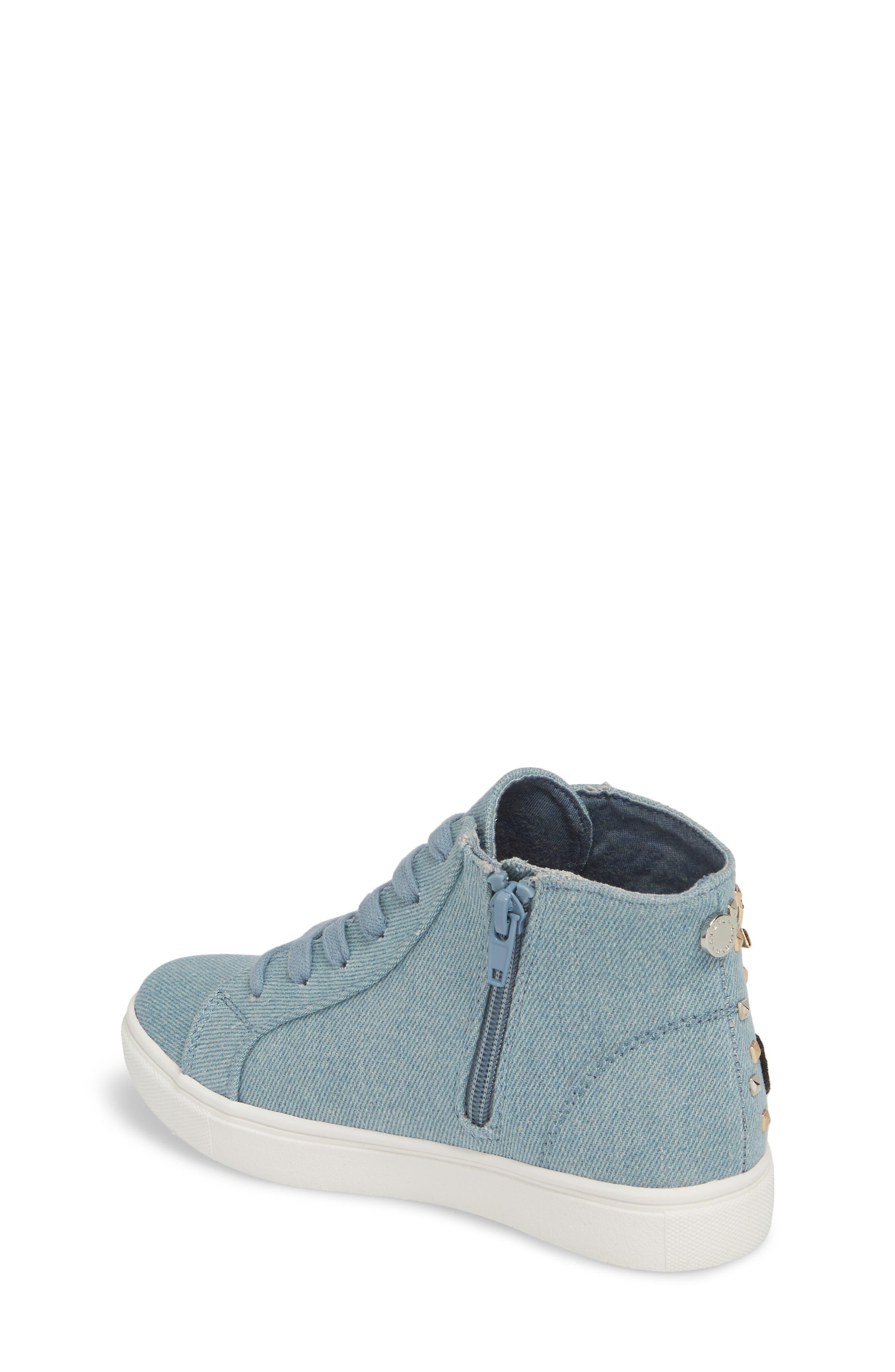 JKOOKIE High Top Sneaker,                             Alternate thumbnail 2, color,                             Denim