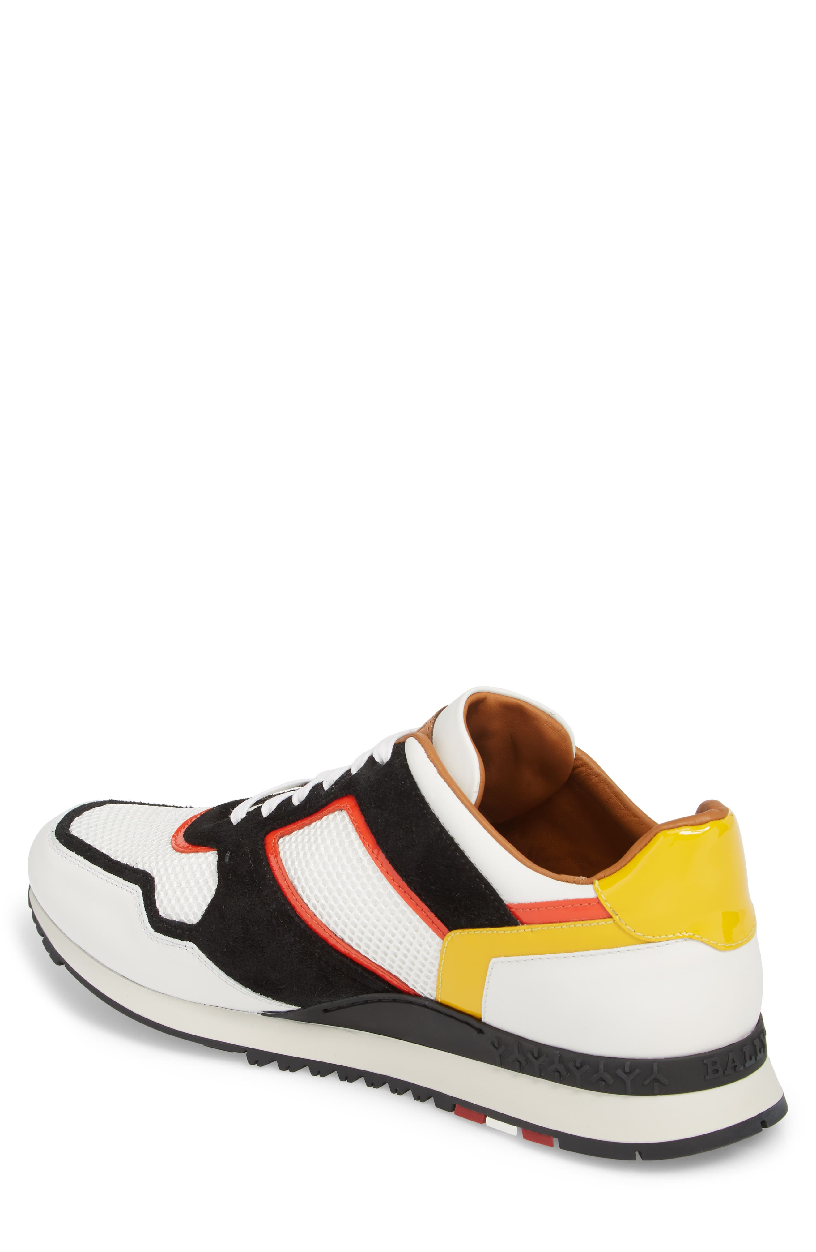 Astreo Low Top Sneaker,                             Alternate thumbnail 2, color,                             White