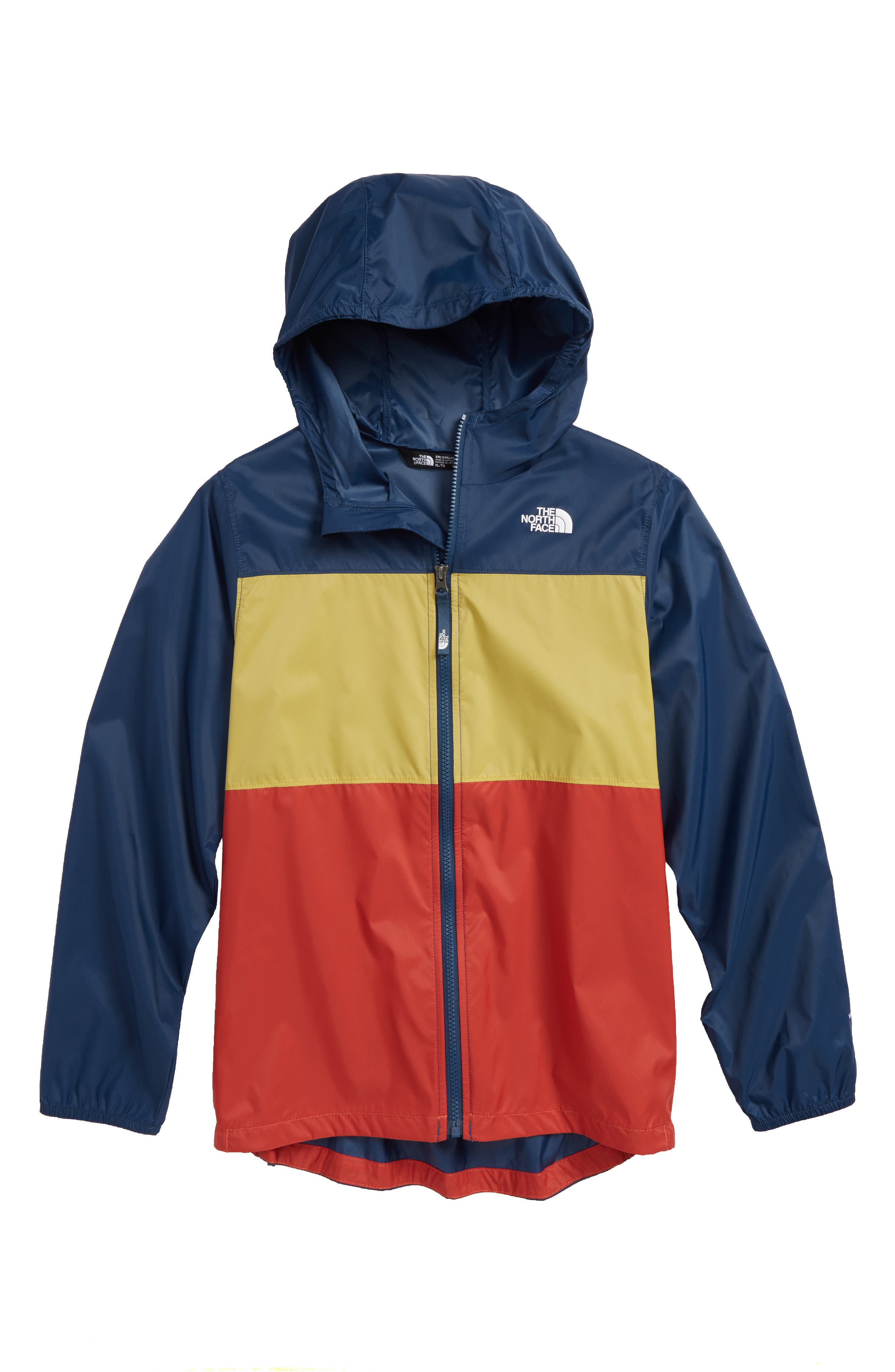 Alternate Image 1 Selected - The North Face Flurry Hooded Windbreaker (Big Girls)