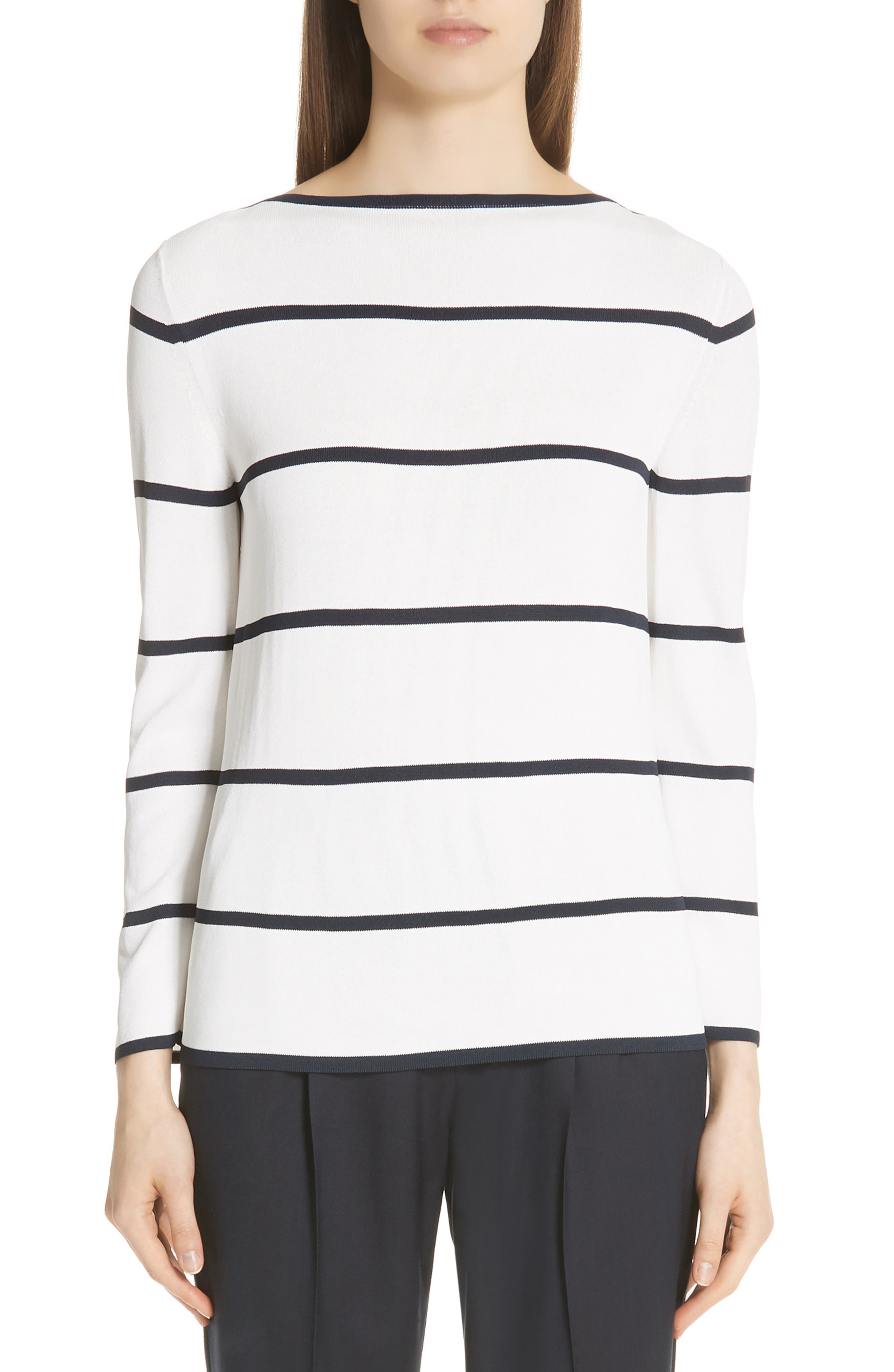 Max Mara Comma Stripe Sweater