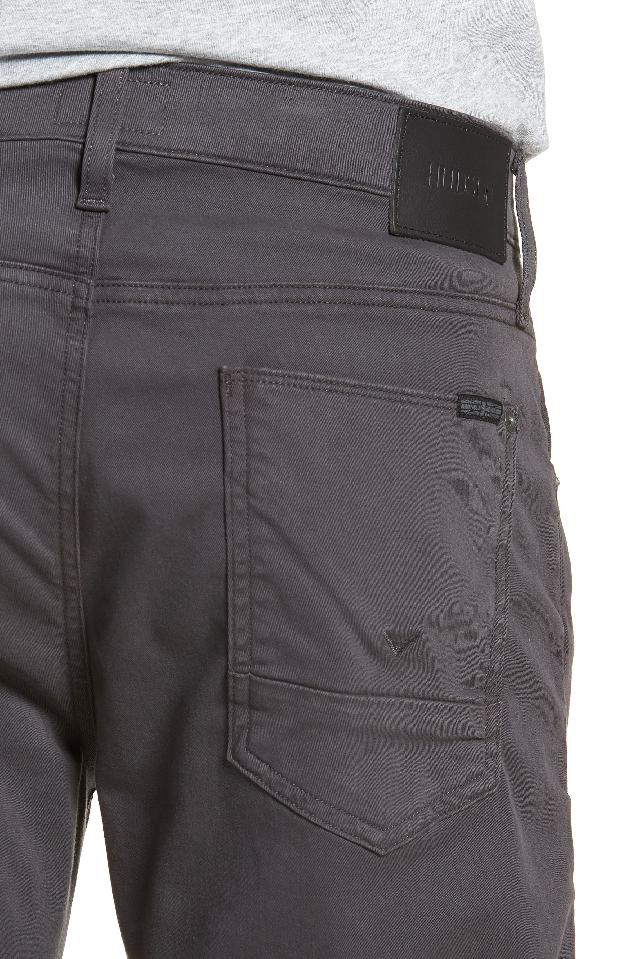 Blake Slim Fit Jeans,                             Alternate thumbnail 4, color,                             Metal