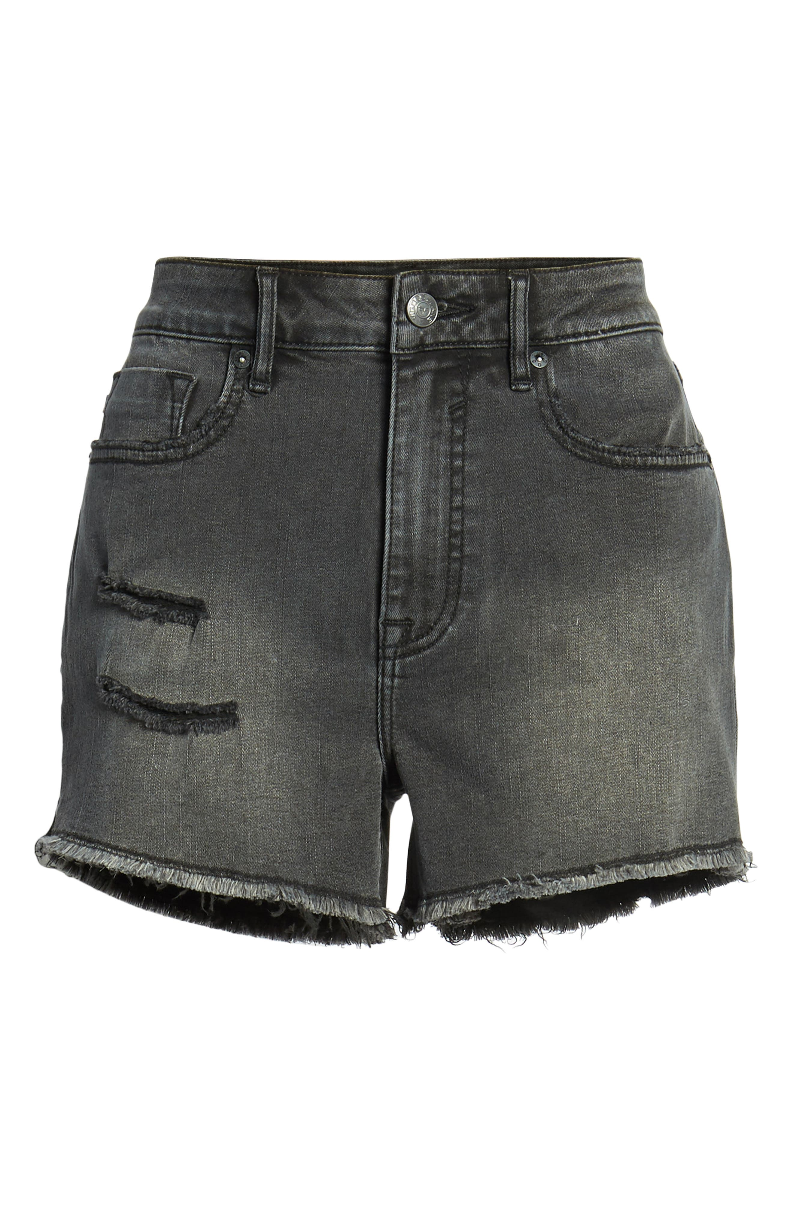 Alternate Image 6  - Vigoss Jagger High Waist Denim Shorts