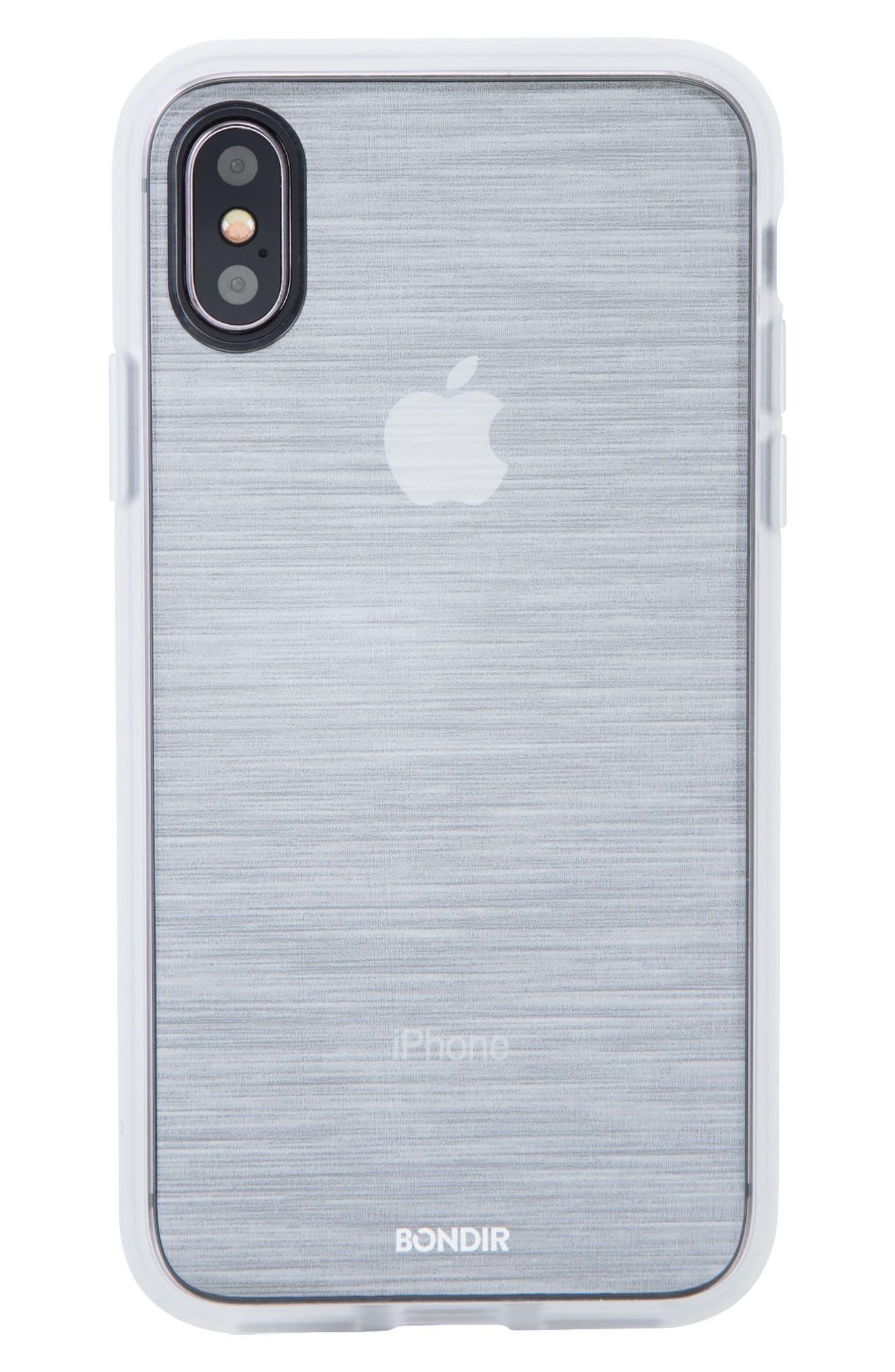 Mist iPhone X Plus Case,                         Main,                         color, Grey