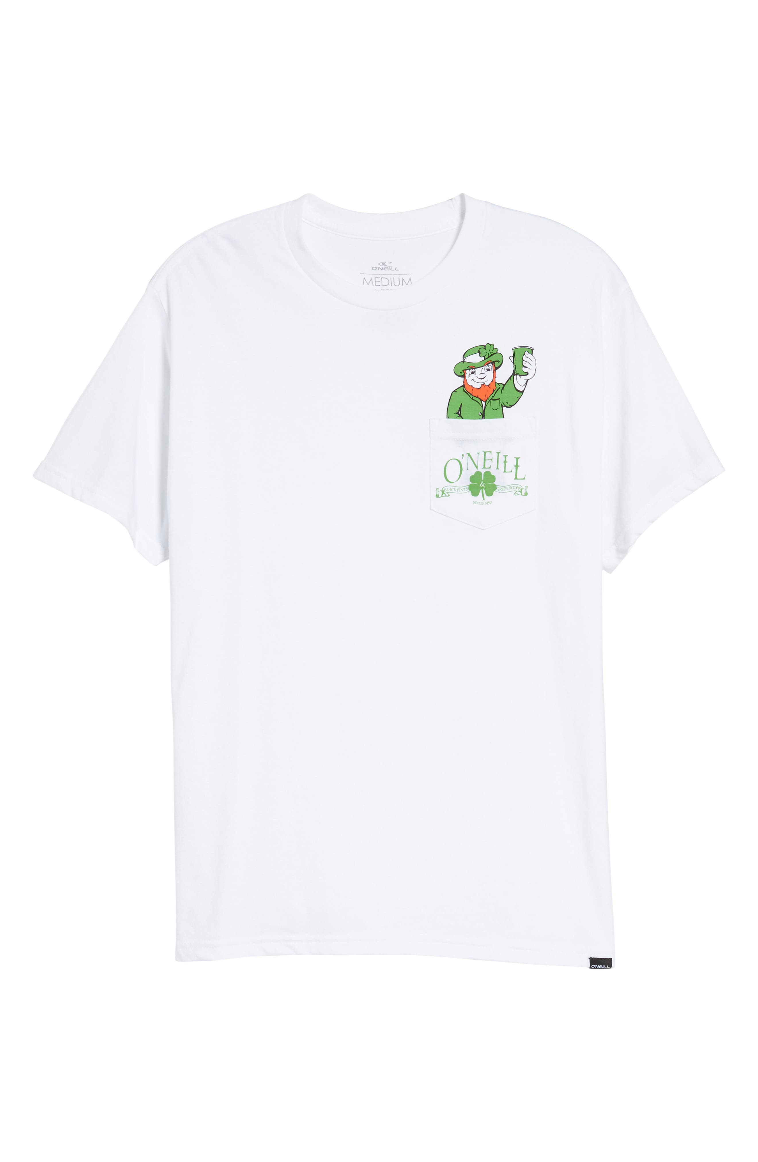 Shinanigans Graphic T-Shirt,                             Alternate thumbnail 6, color,                             White