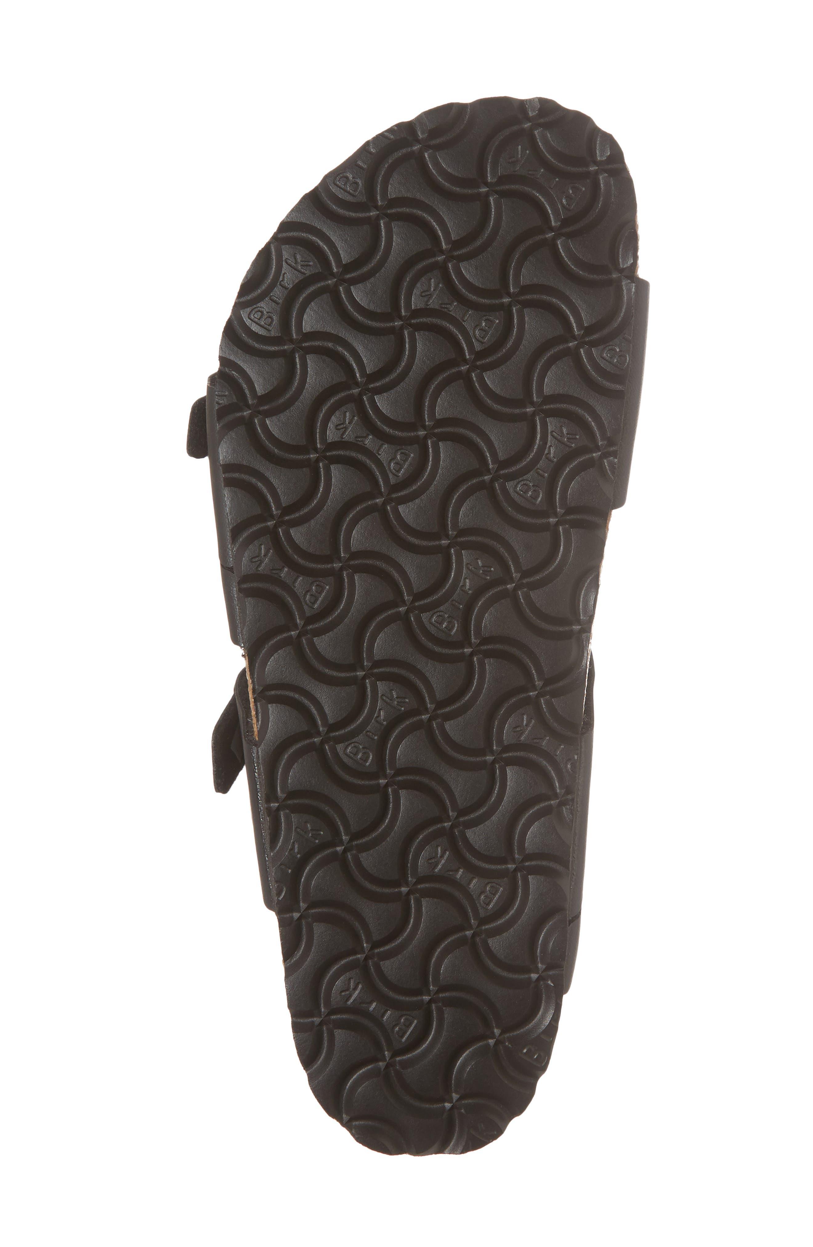 Salina Slide Sandal,                             Alternate thumbnail 6, color,                             Black