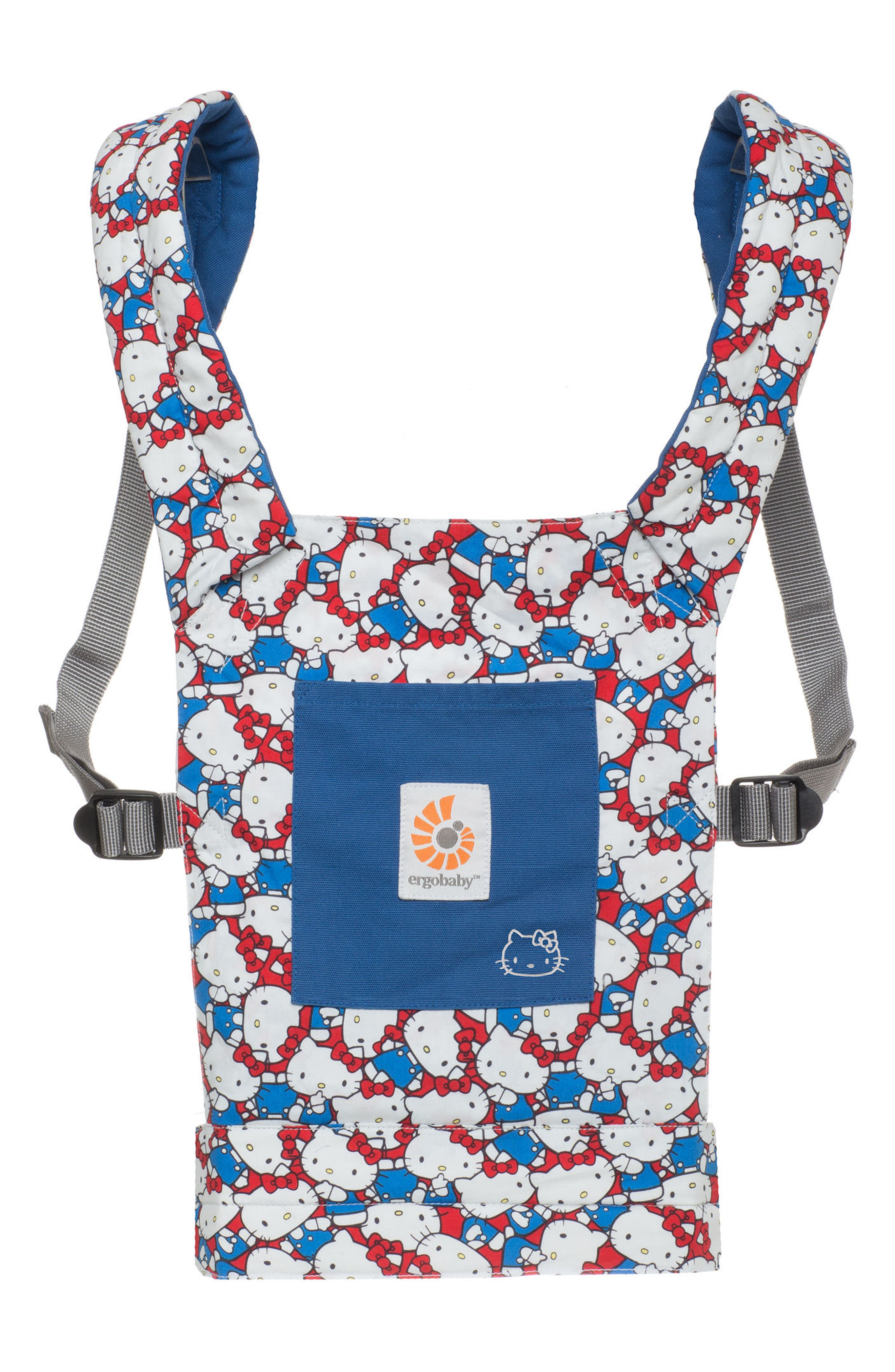 x Hello Kitty<sup>®</sup> Doll Carrier,                             Main thumbnail 1, color,                             Blue