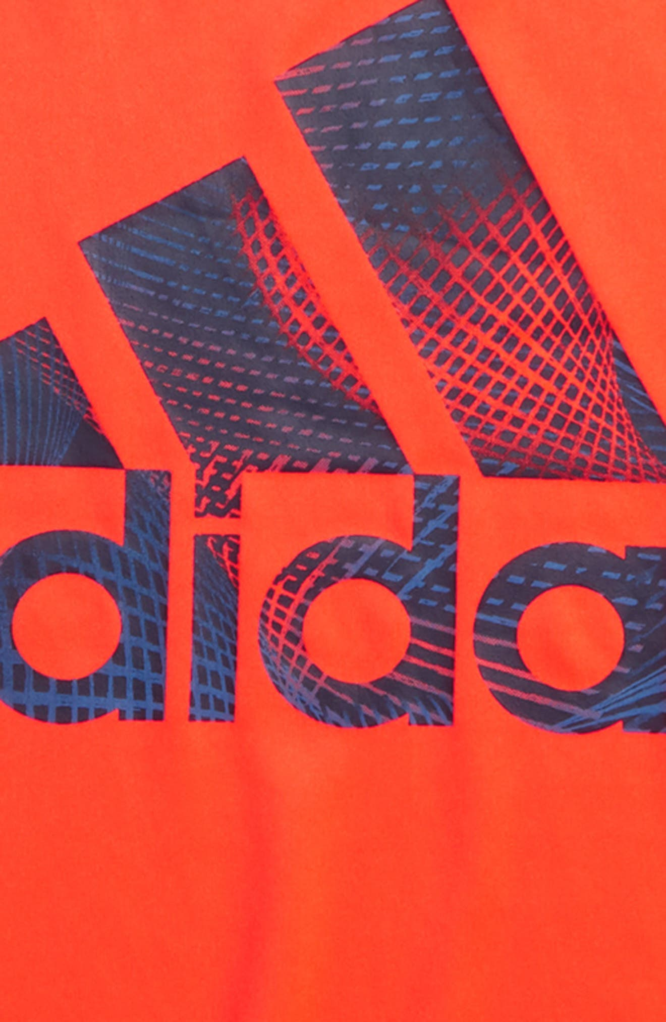 Logo T-Shirt,                             Alternate thumbnail 3, color,                             Red Orange