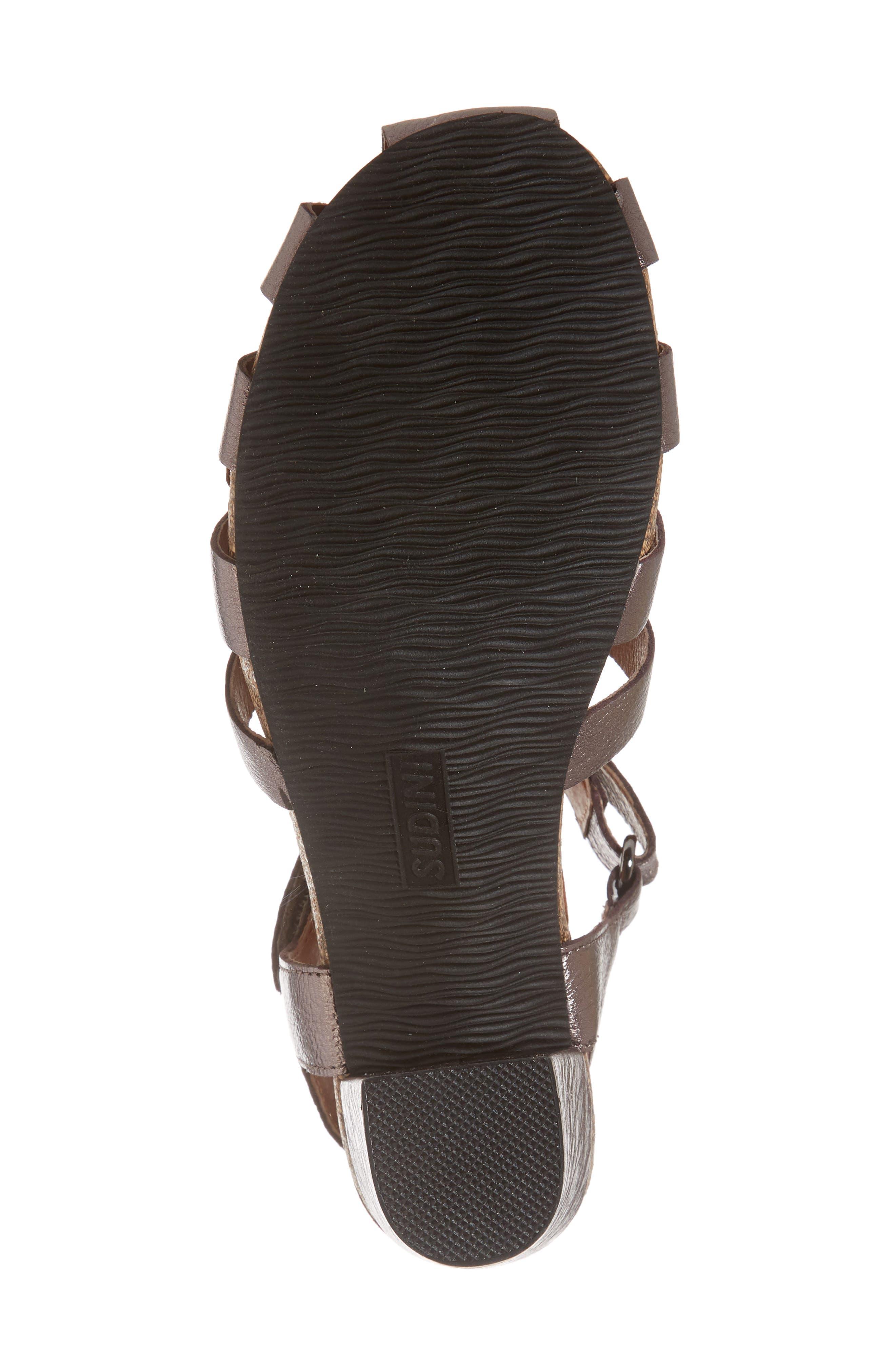 Alternate Image 6  - Sudini Carrara Block Heel Sandal (Women)
