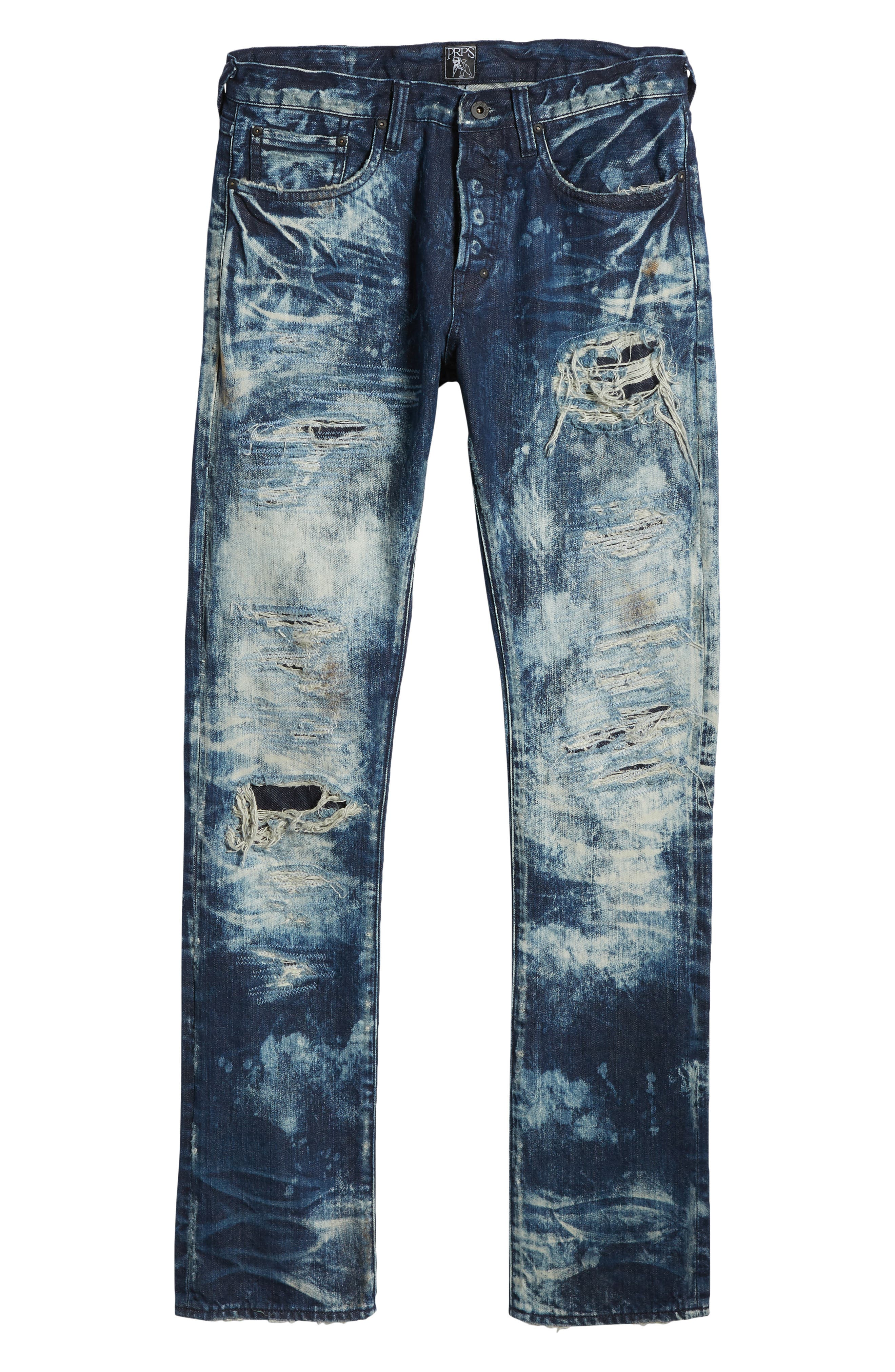 Le Sabre Slim Fit Jeans,                             Alternate thumbnail 6, color,                             Consolation