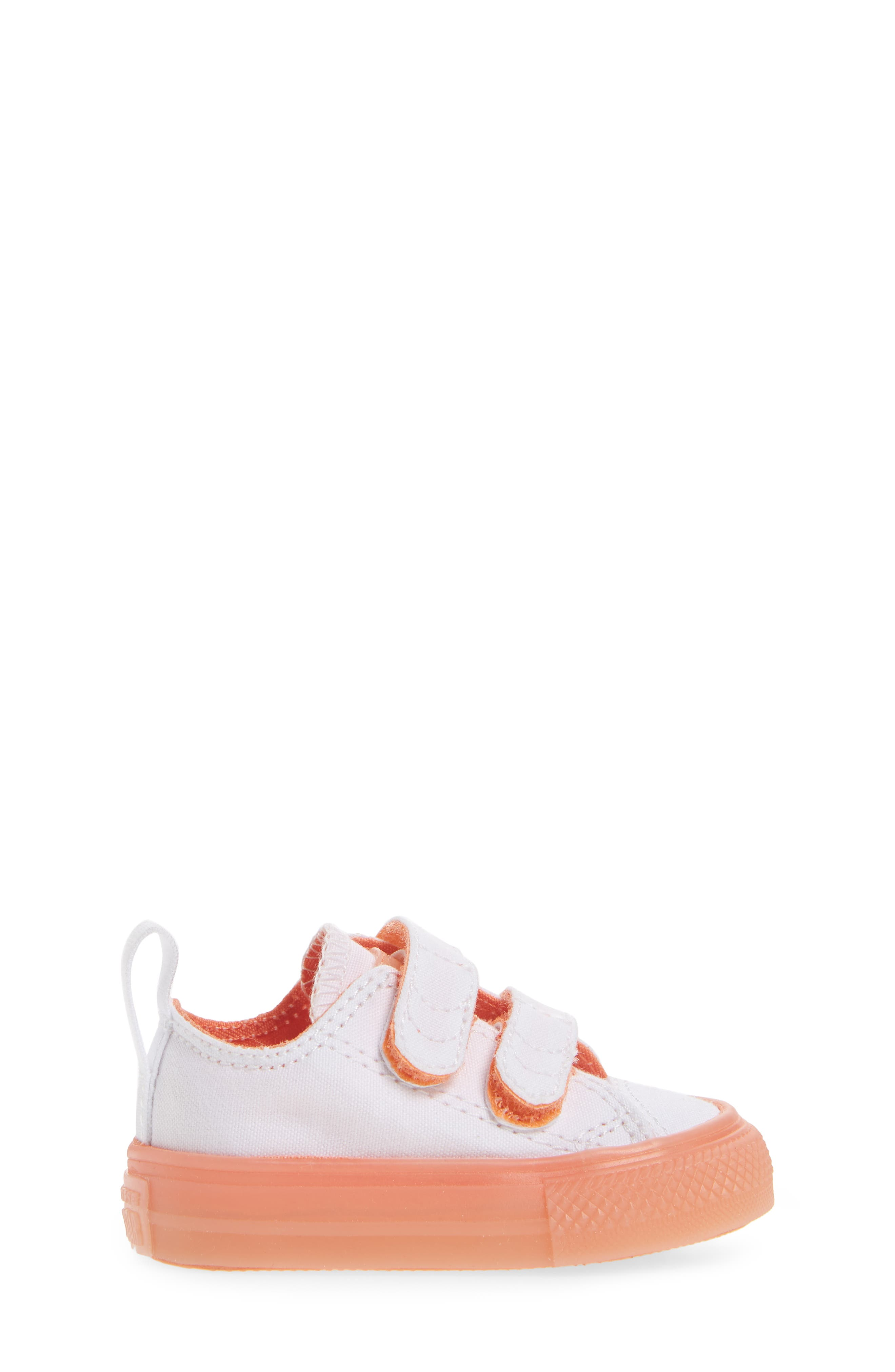 Chuck Taylor<sup>®</sup> All Star<sup>®</sup> Jelly Sneaker,                             Alternate thumbnail 3, color,                             Orange