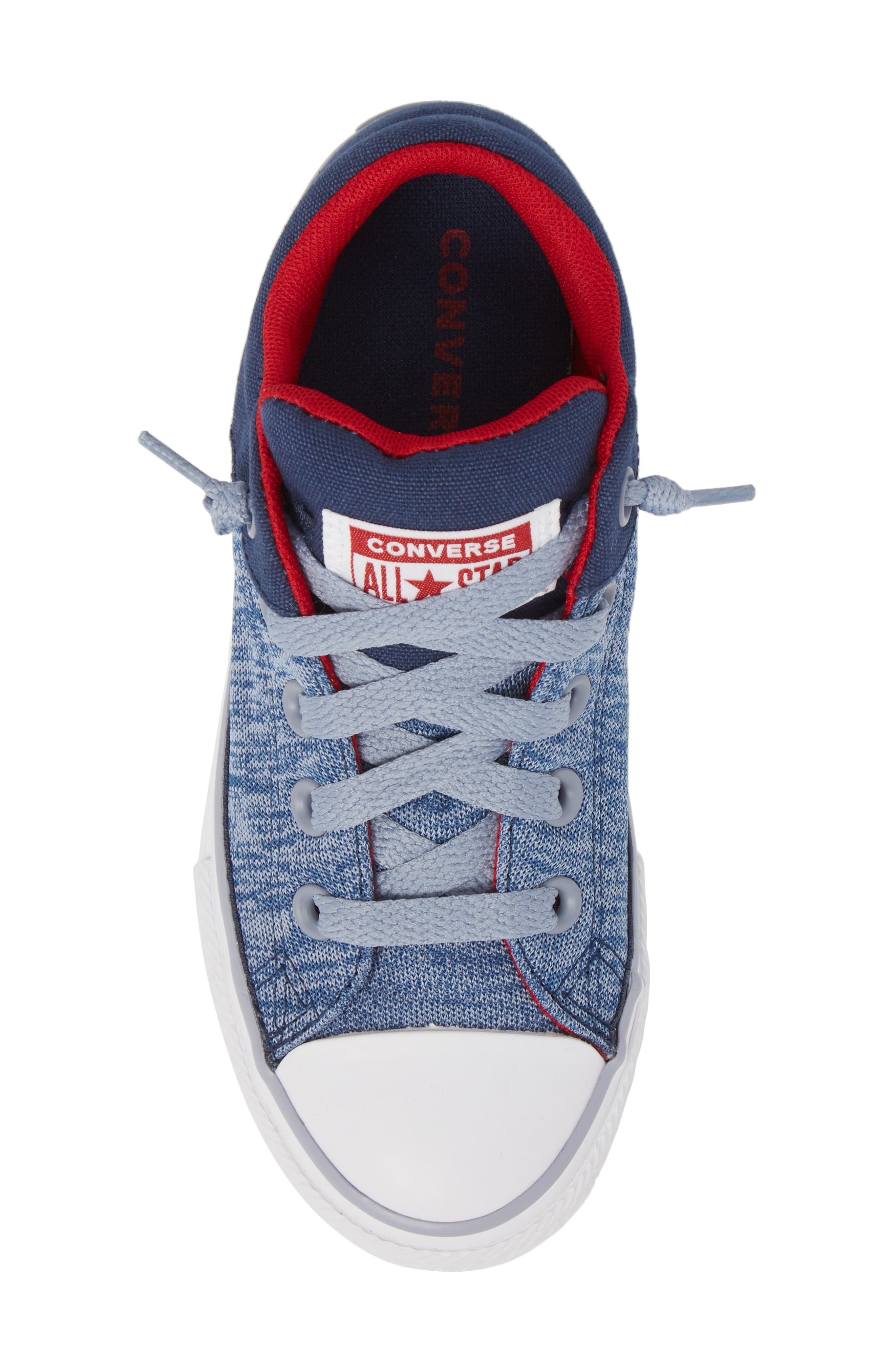 One Star Heather Street Sneaker,                             Alternate thumbnail 5, color,                             Navy