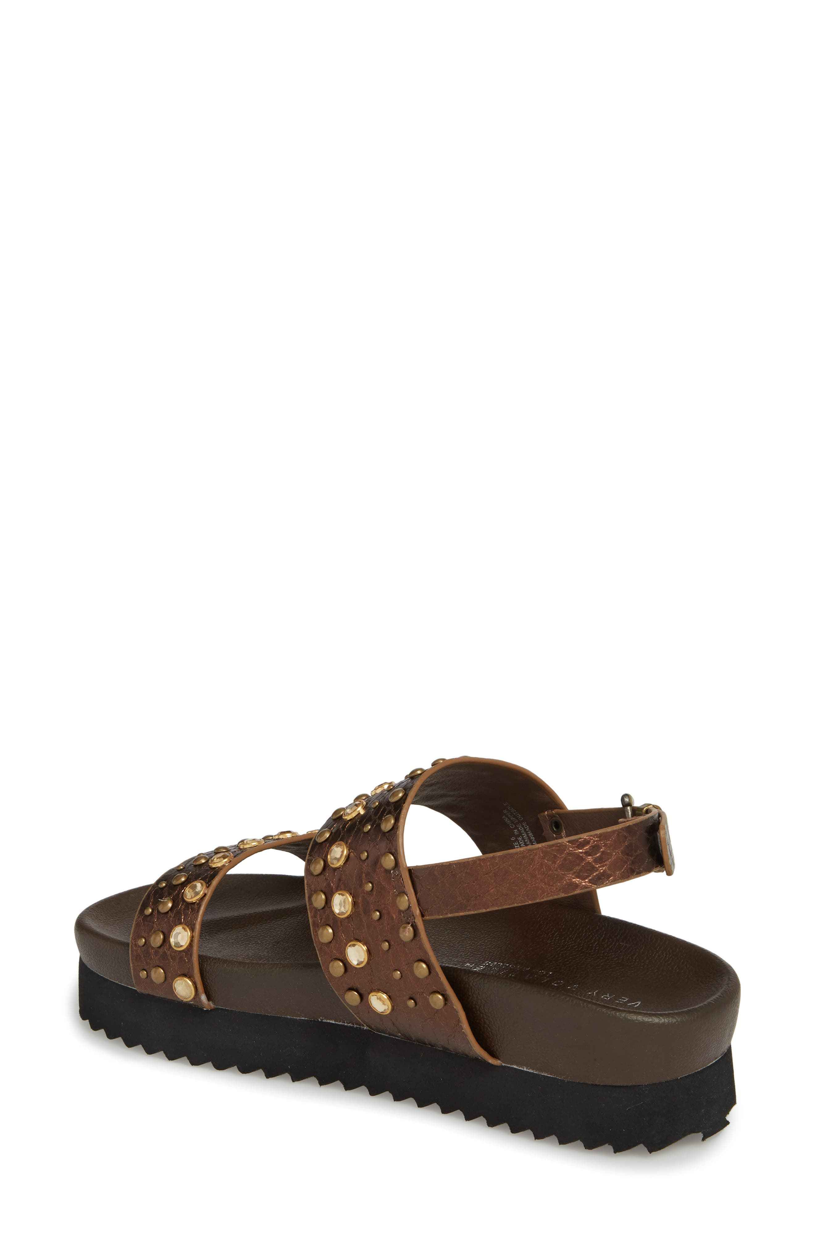 Milan Platform Sandal,                             Alternate thumbnail 2, color,                             Bronze