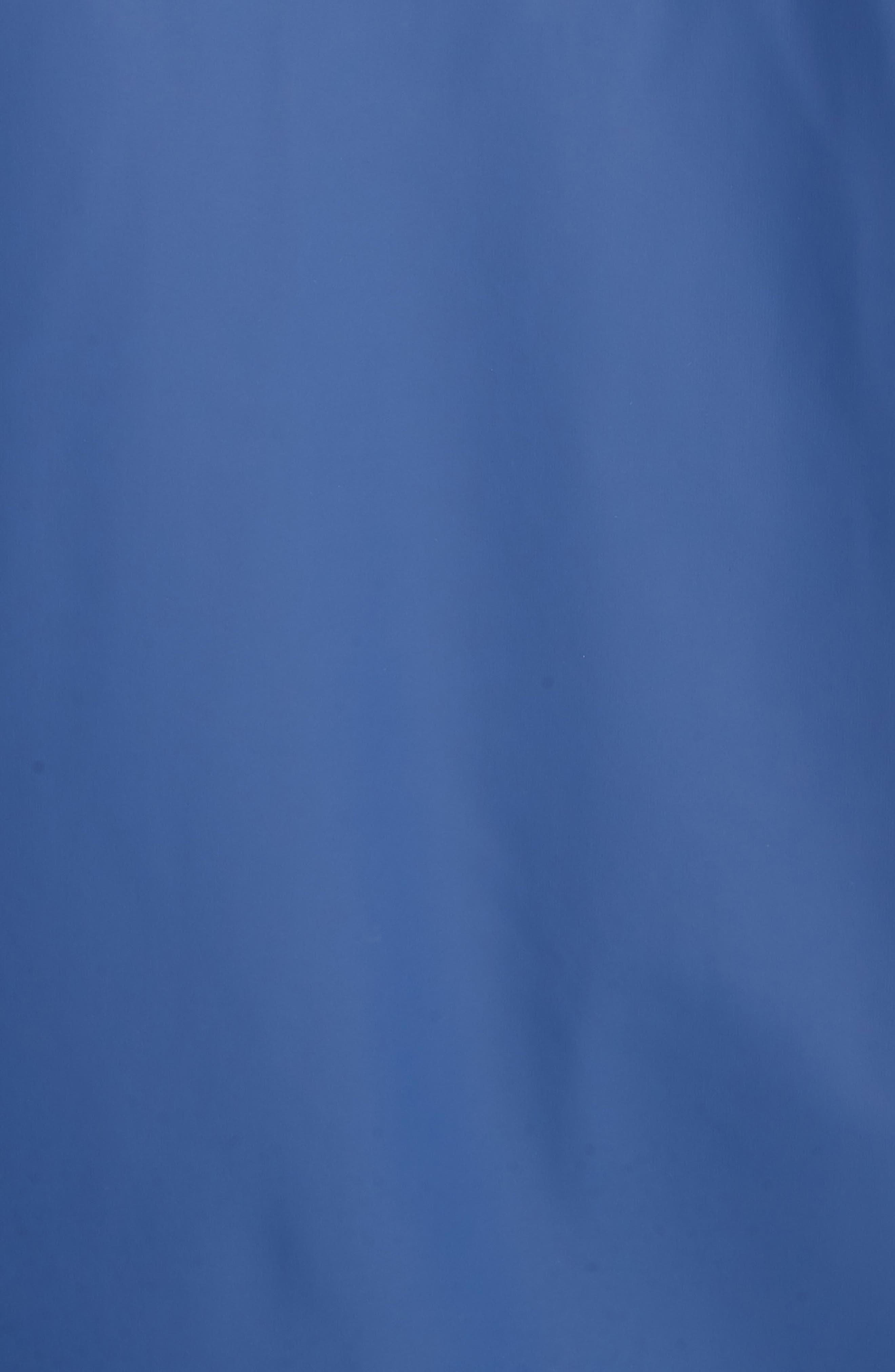Rubberized Long Coach's Jacket,                             Alternate thumbnail 5, color,                             Navy