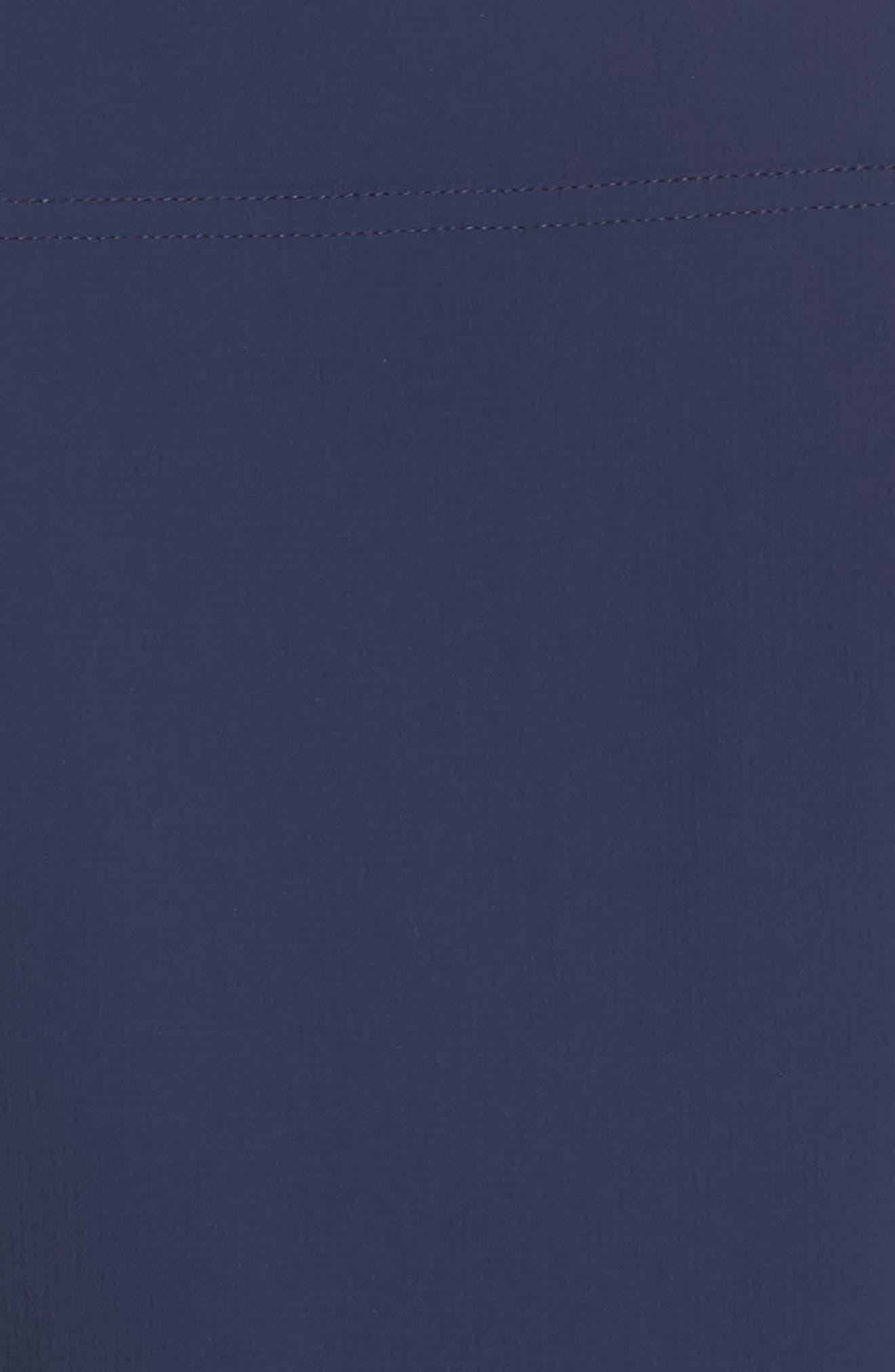 Run Ultra Knit & Woven Jacket,                             Alternate thumbnail 6, color,                             Collegiate Navy
